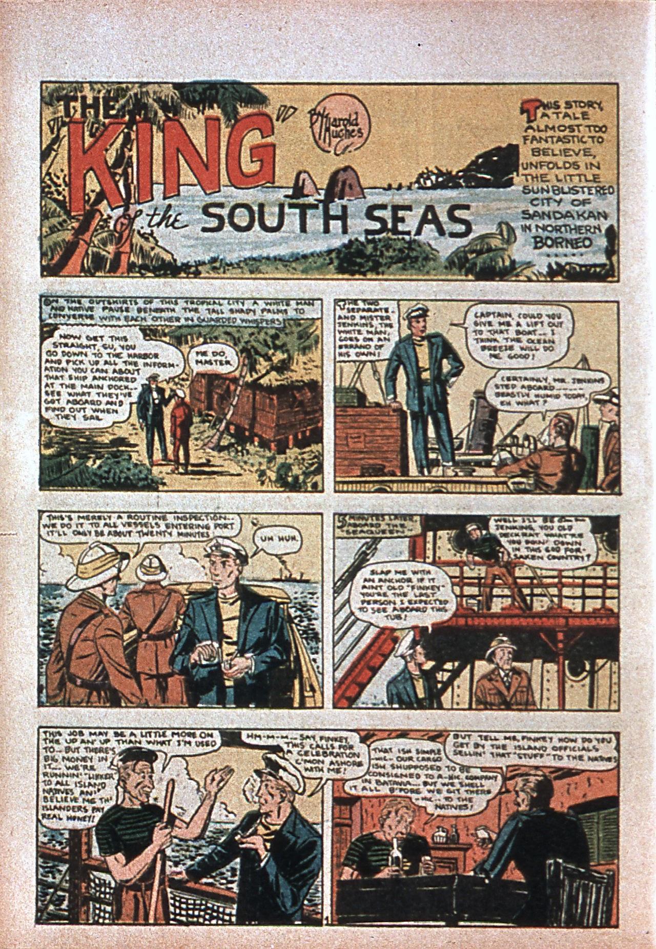 Read online Amazing Man Comics comic -  Issue #7 - 17