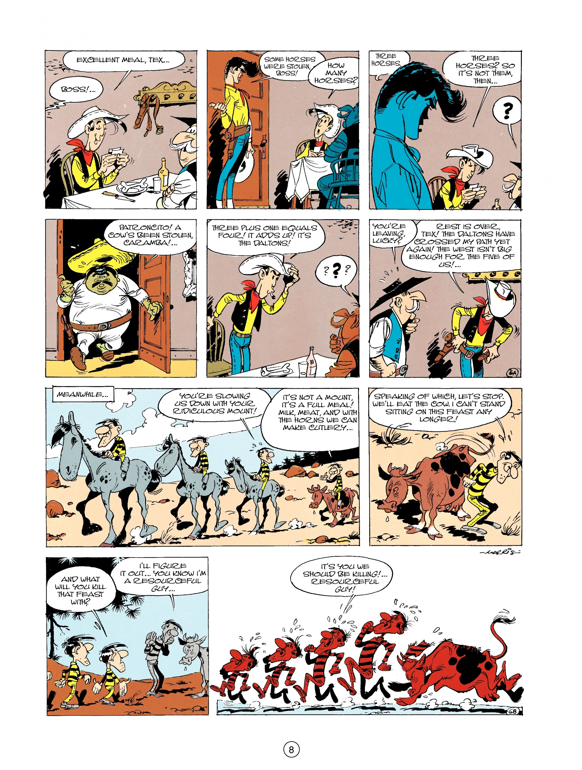 Read online A Lucky Luke Adventure comic -  Issue #19 - 8