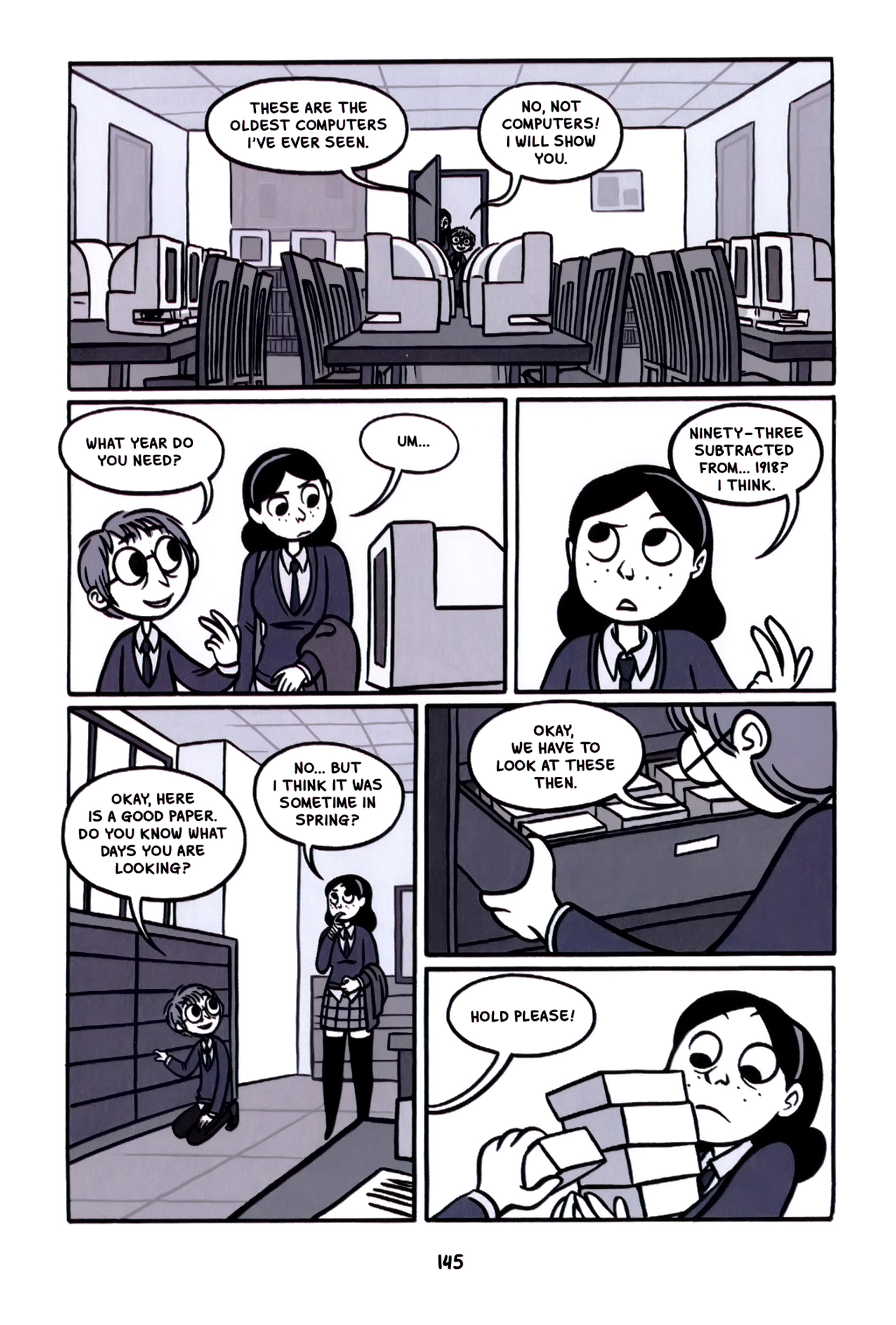 Read online Anya's Ghost comic -  Issue #1 - 146
