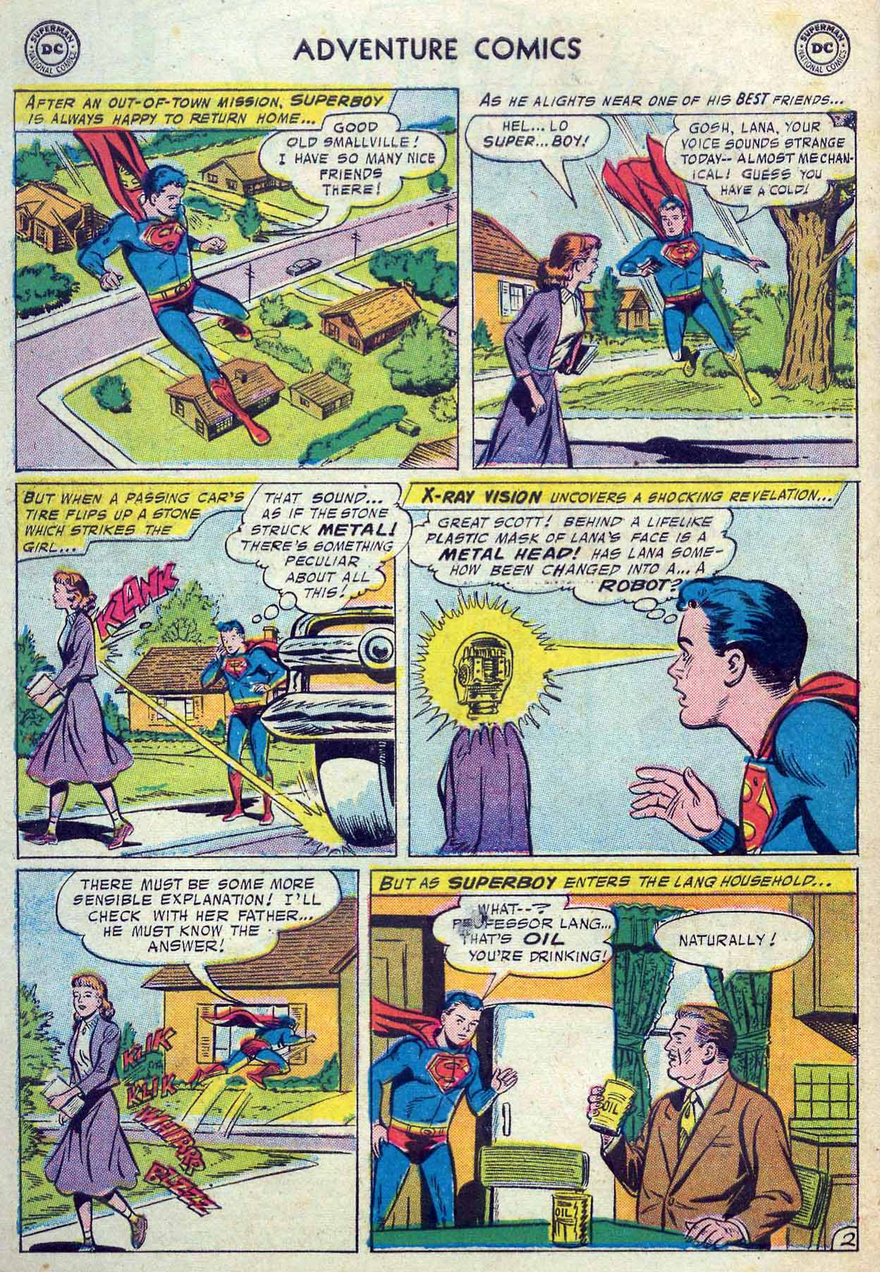 Read online Adventure Comics (1938) comic -  Issue #237 - 4