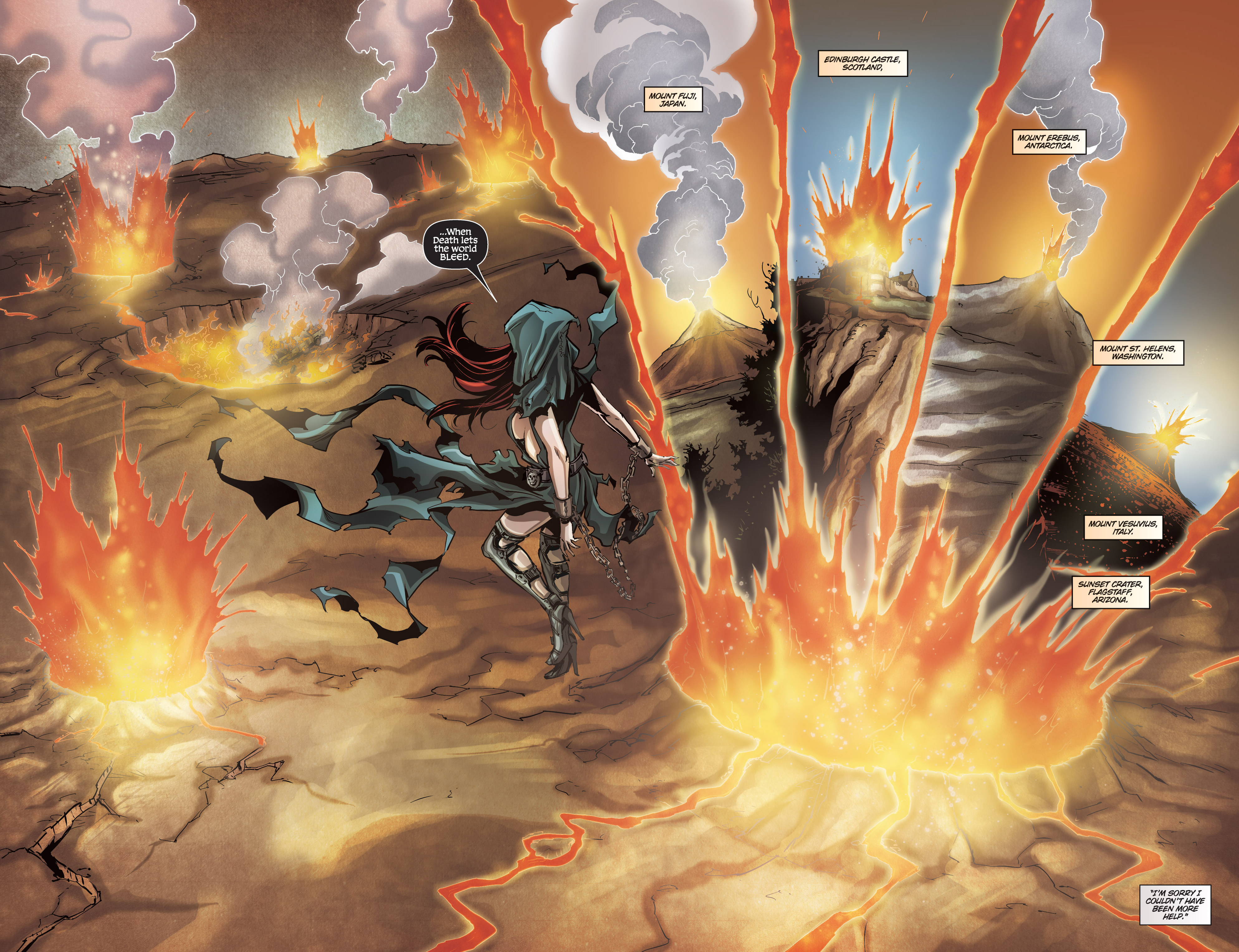 Read online Grimm Fairy Tales presents No Tomorrow comic -  Issue # TPB - 87