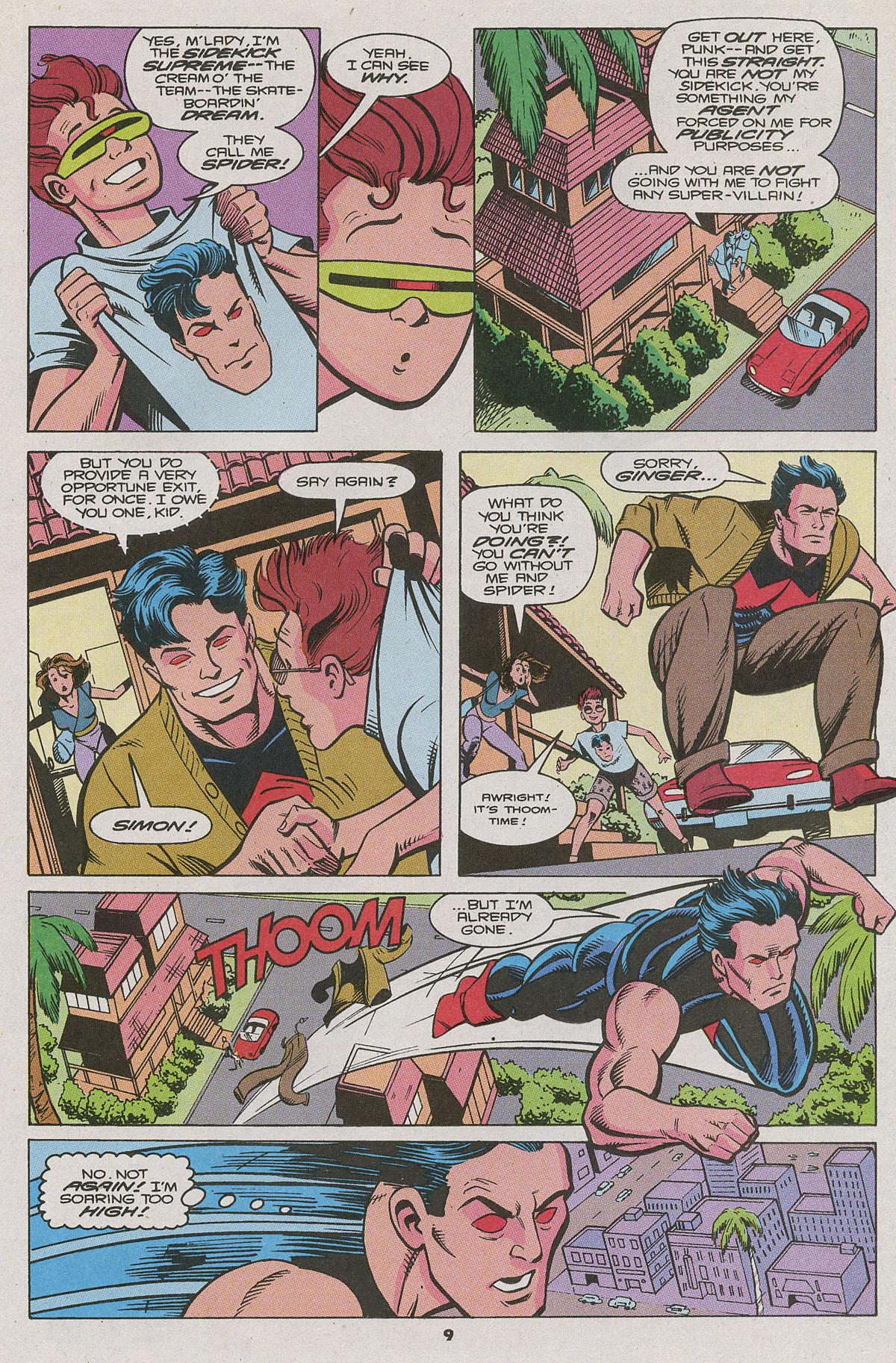 Read online Wonder Man (1991) comic -  Issue #11 - 7