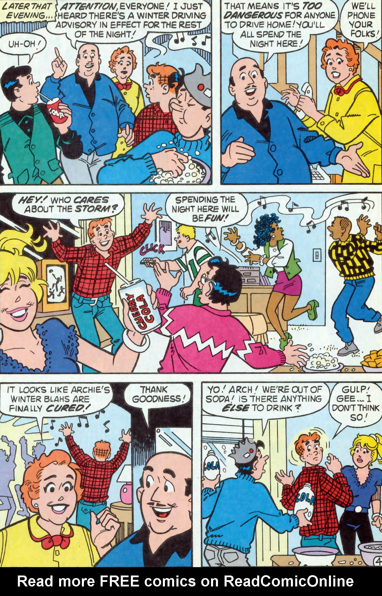 Read online Archie (1960) comic -  Issue #469 - 11