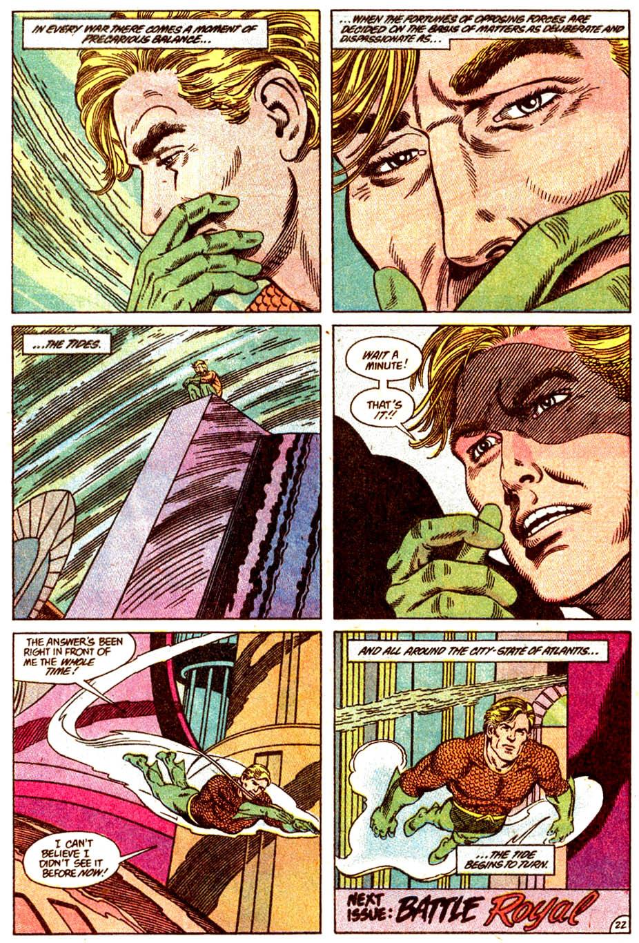Read online Aquaman (1989) comic -  Issue #4 - 23