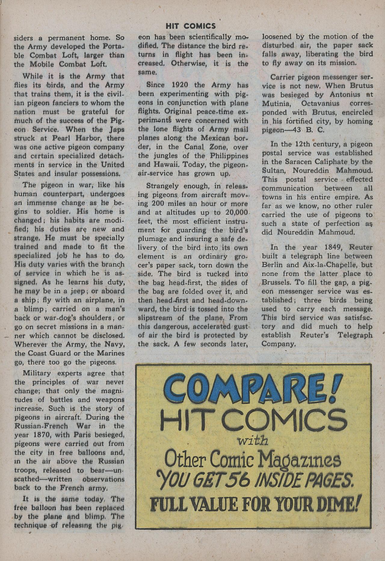 Read online Hit Comics comic -  Issue #38 - 48