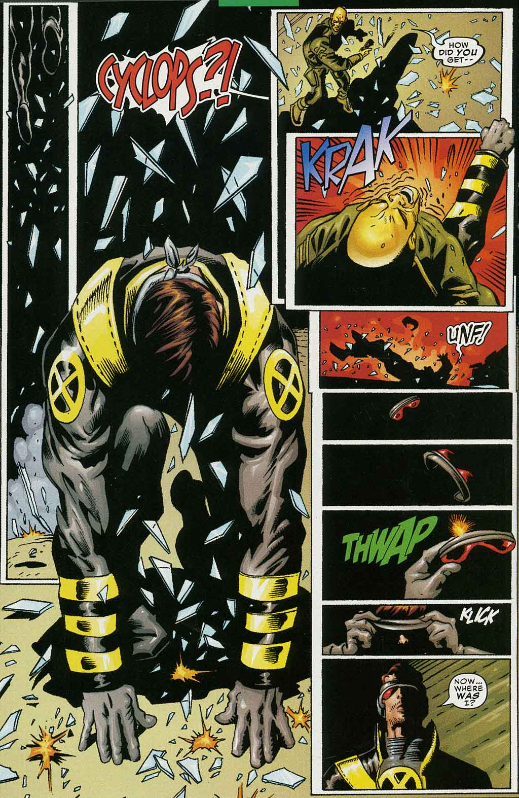 Read online Cyclops (2001) comic -  Issue #4 - 10
