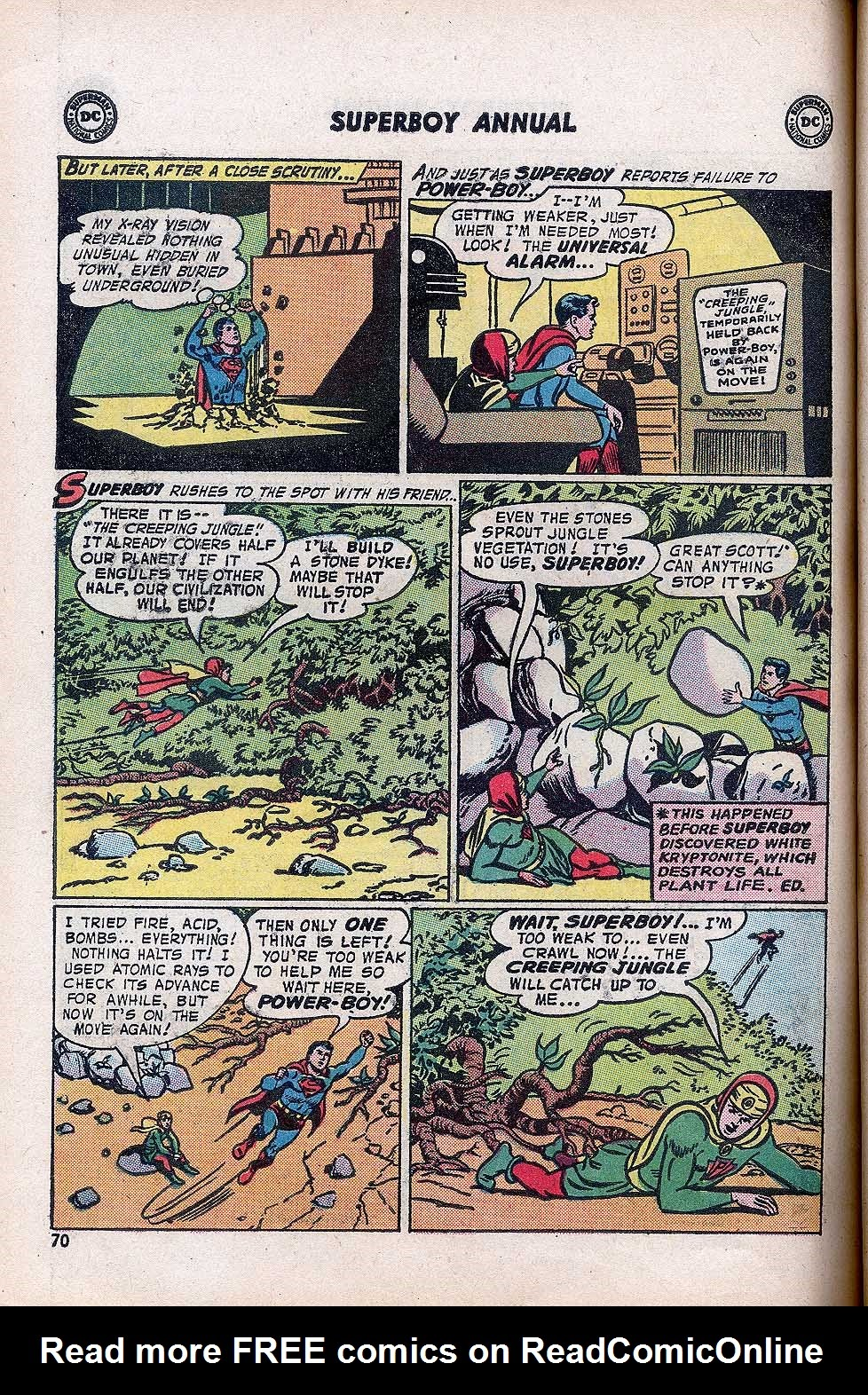 Superboy (1949) issue Annual 1 - Page 72