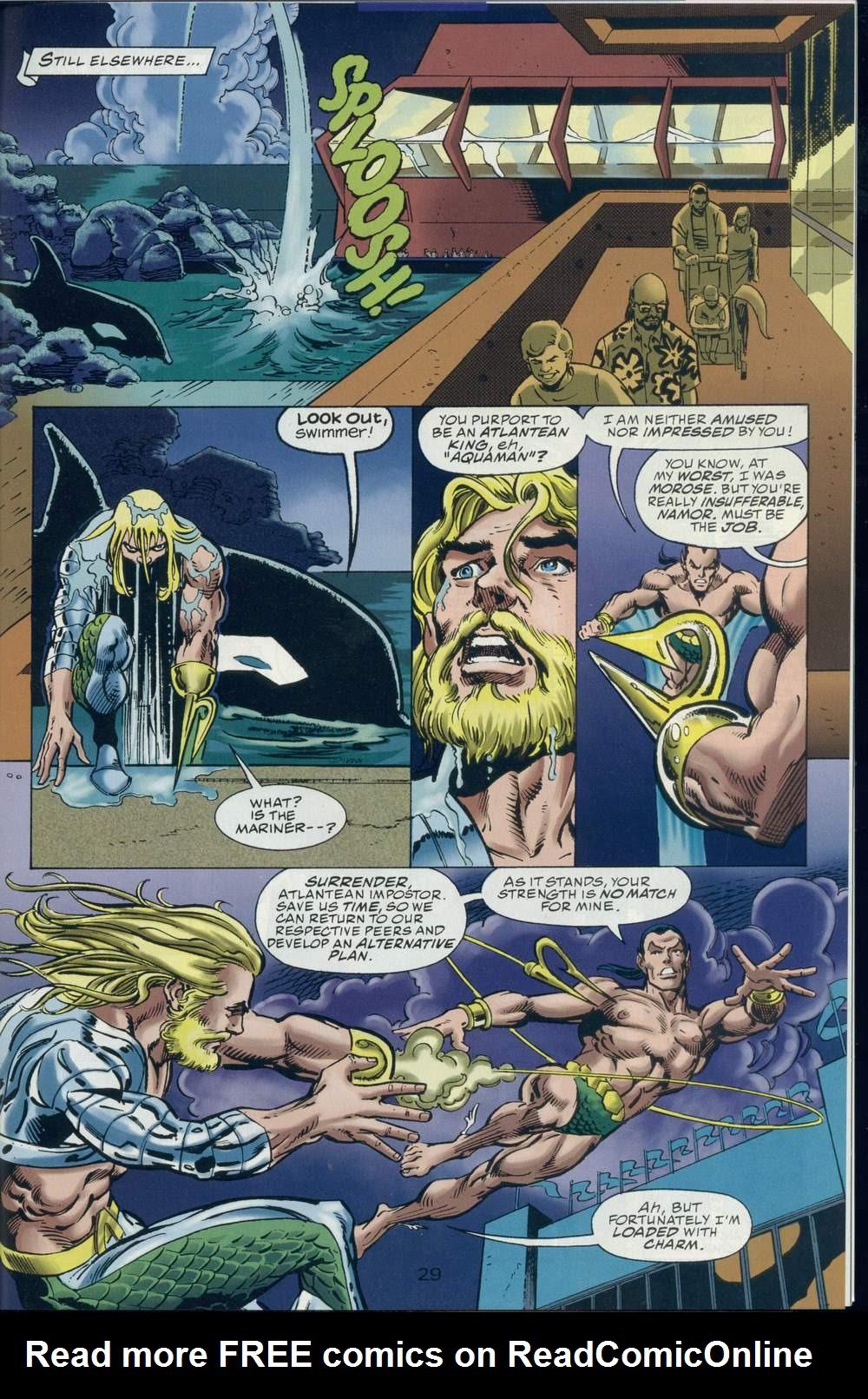 Read online DC Versus Marvel Comics comic -  Issue #2 - 30