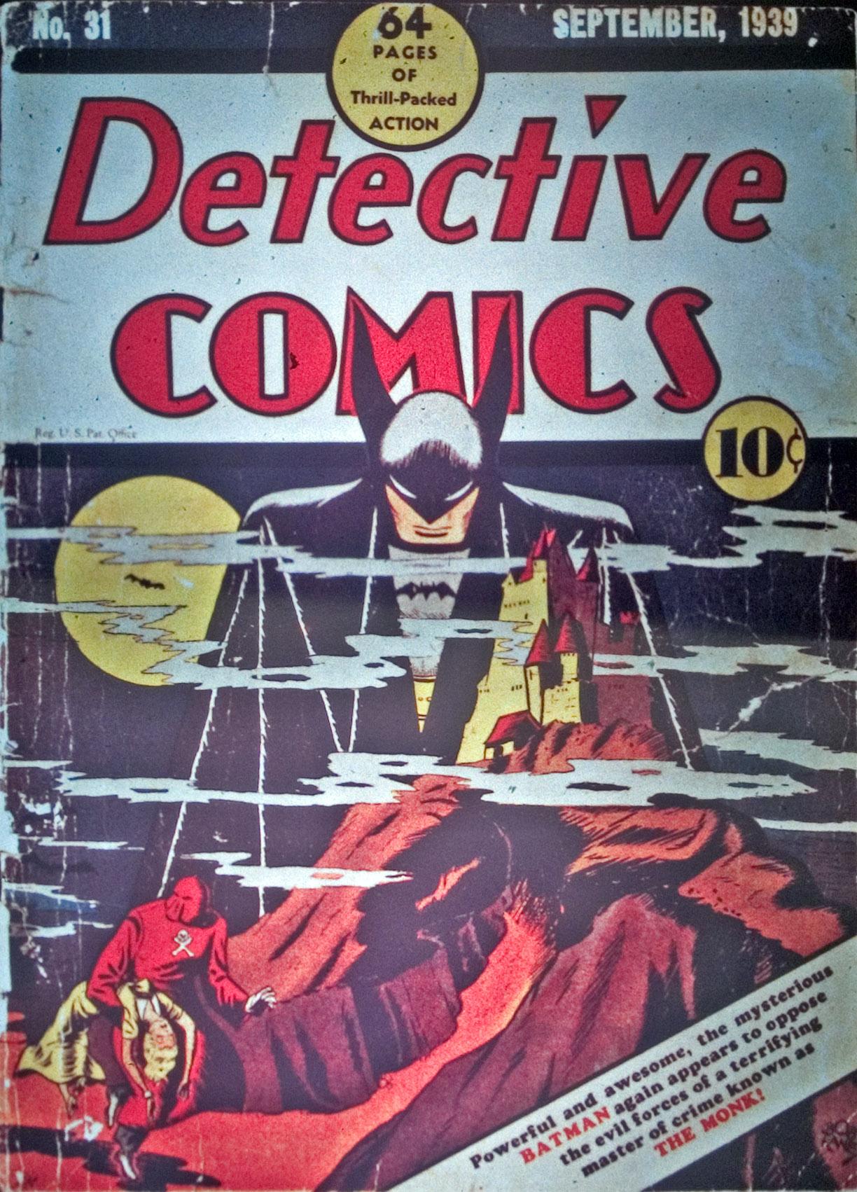 Detective Comics (1937) 31 Page 1