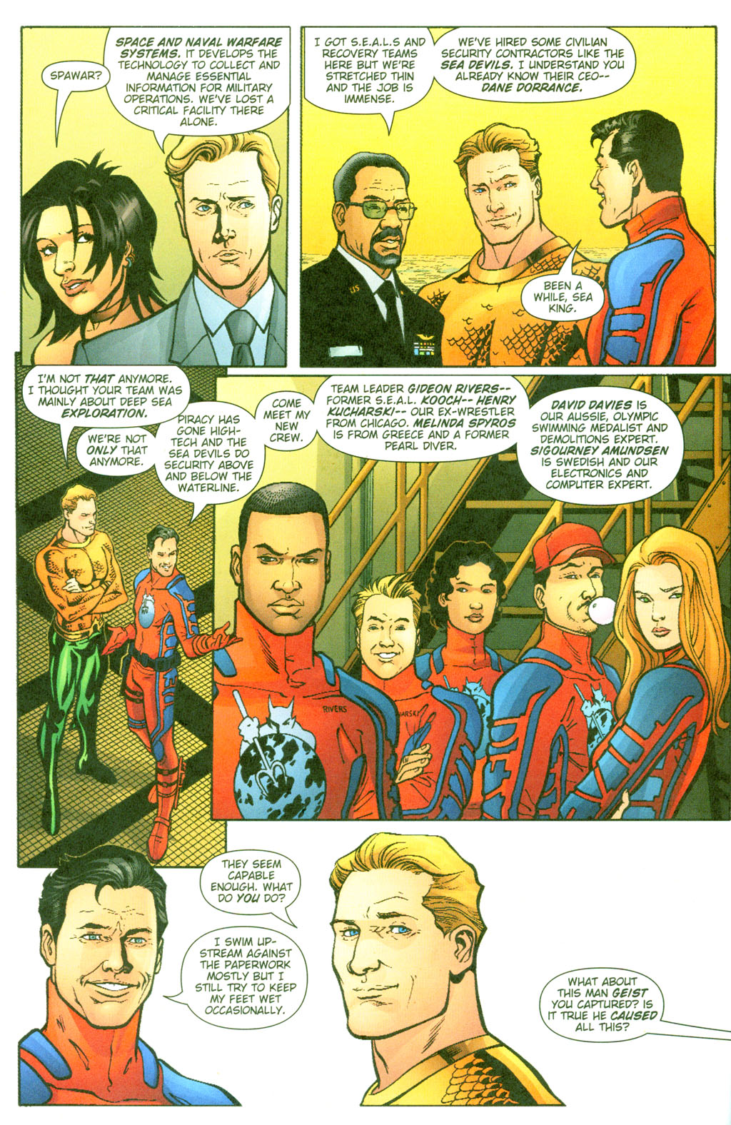 Read online Aquaman (2003) comic -  Issue #23 - 8