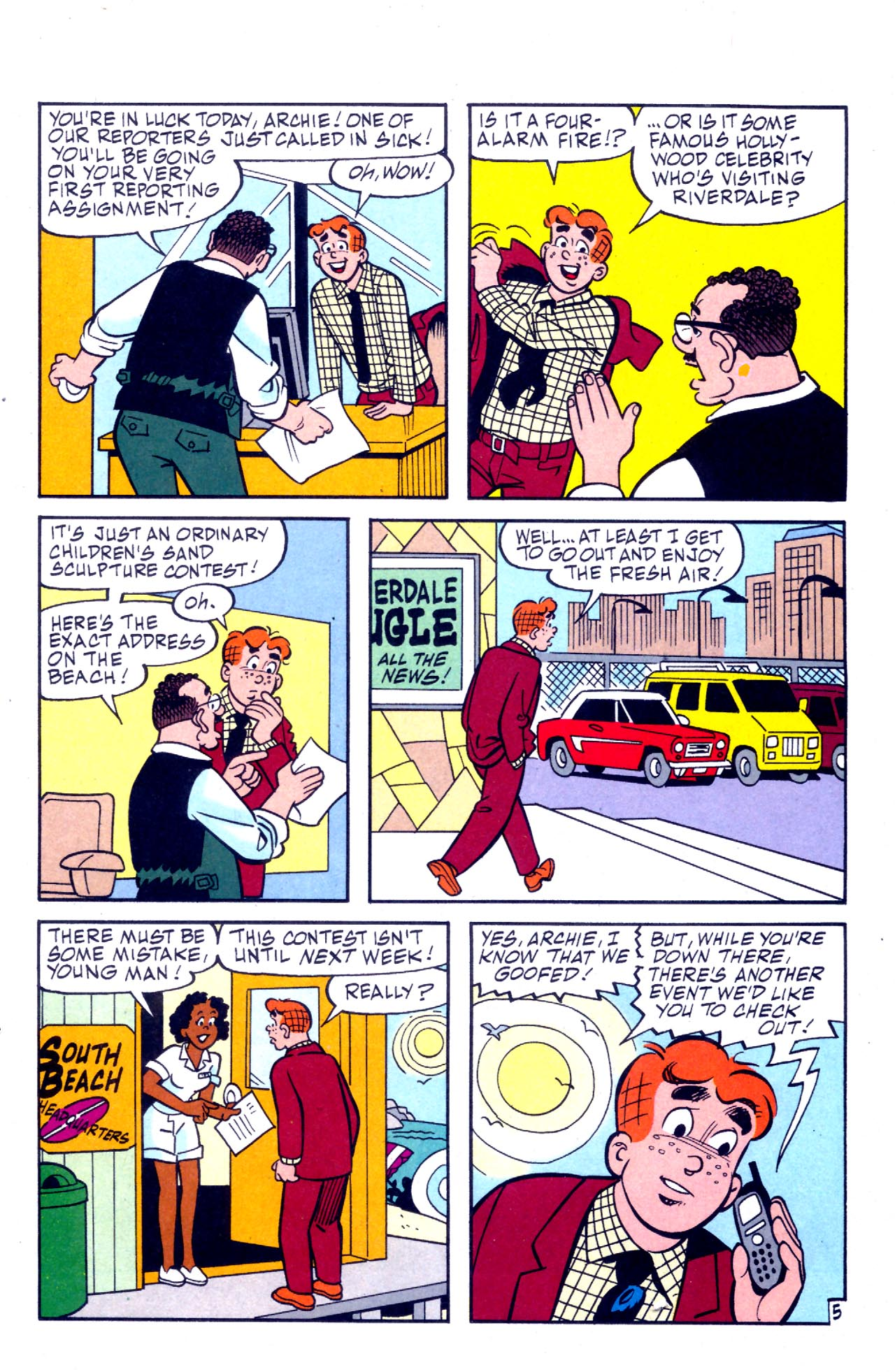 Read online Archie (1960) comic -  Issue #575 - 24