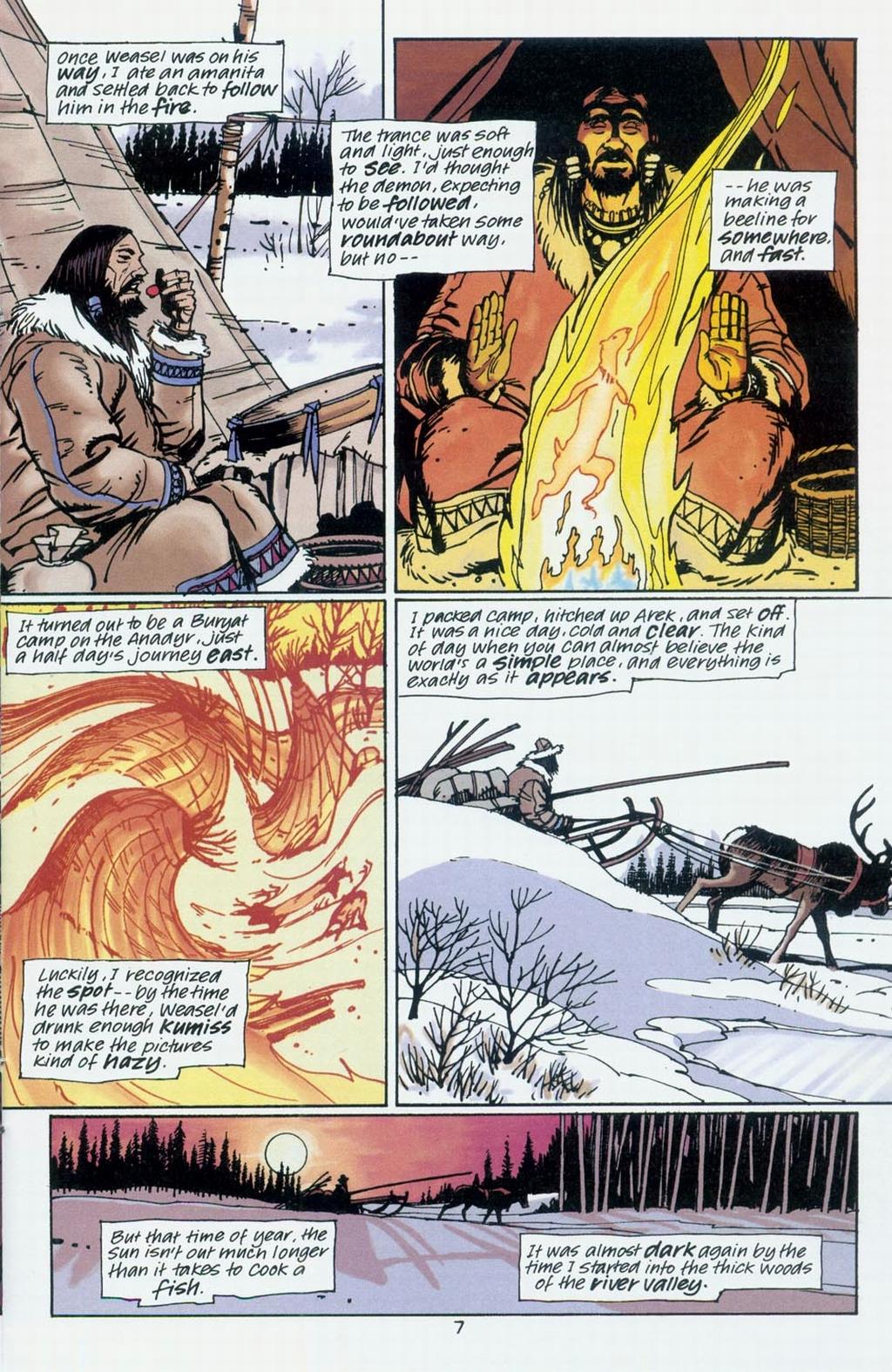 Muktuk Wolfsbreath: Hard-Boiled Shaman issue 1 - Page 7