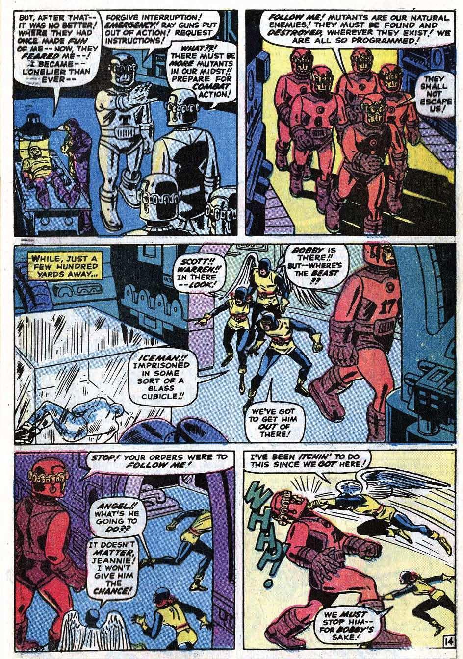 Uncanny X-Men (1963) 68 Page 40