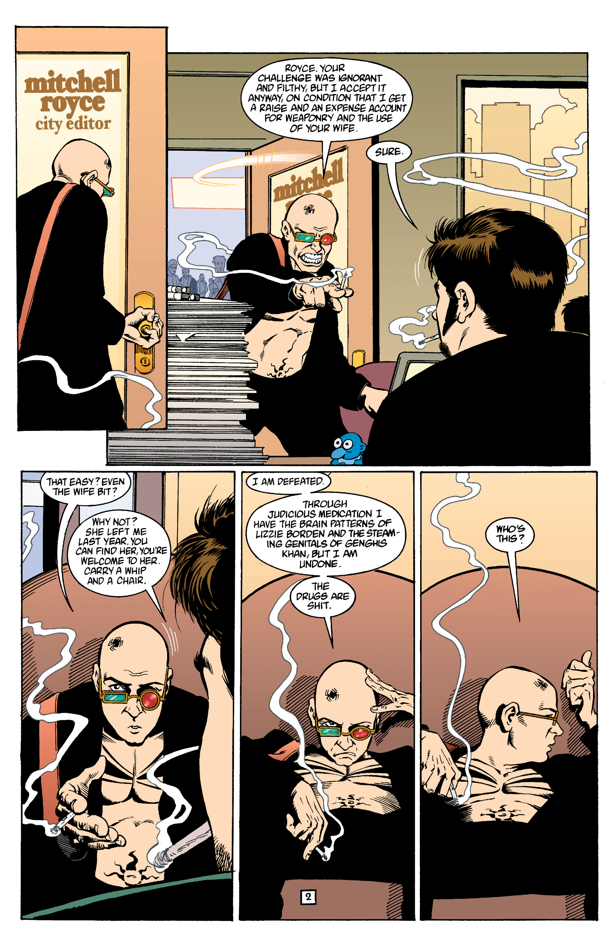 Read online Transmetropolitan comic -  Issue #14 - 3