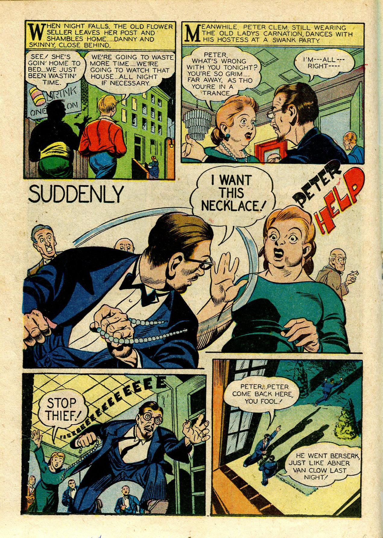 Read online Shadow Comics comic -  Issue #33 - 32