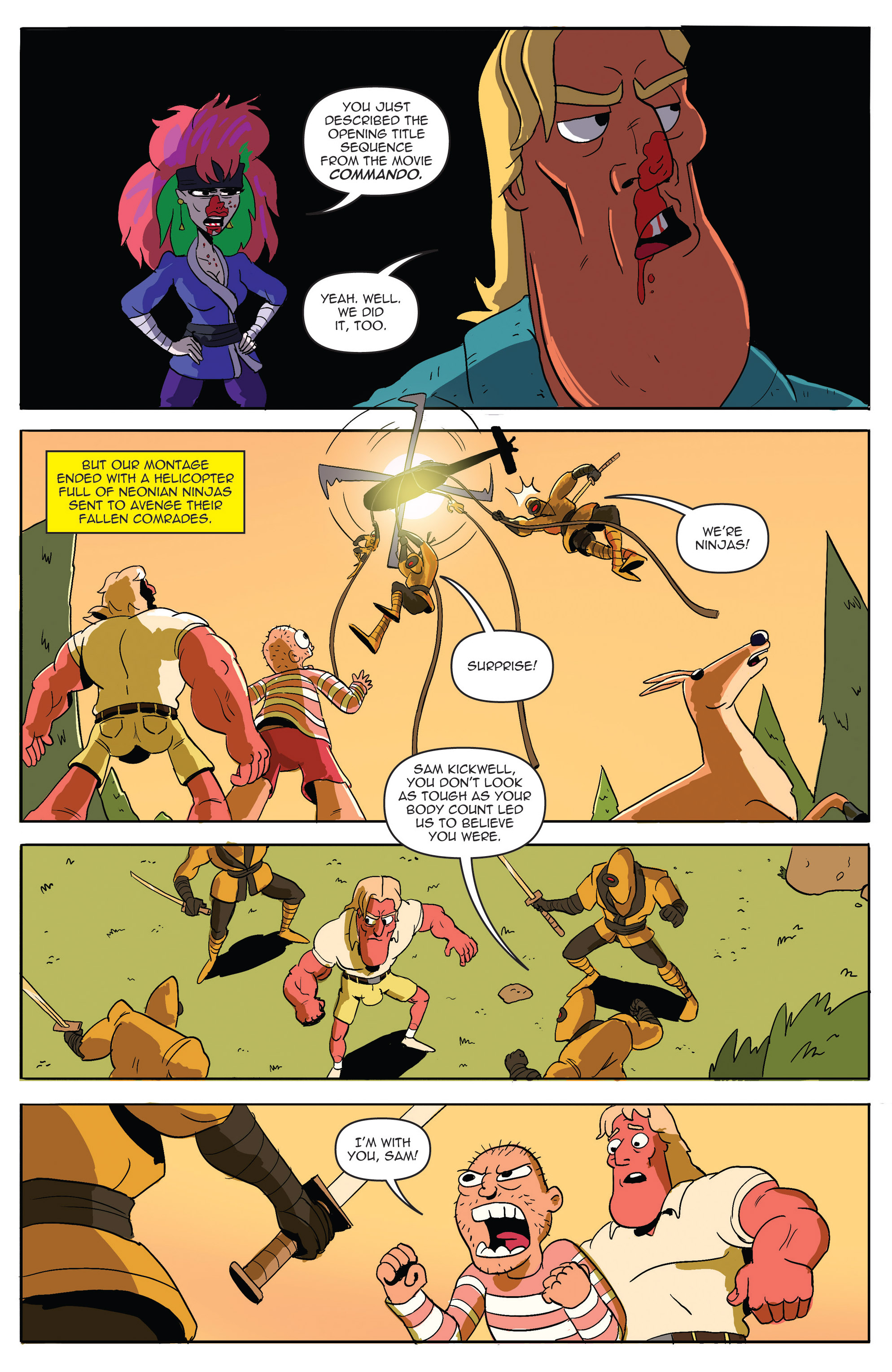 Read online AmeriKarate comic -  Issue #2 - 14
