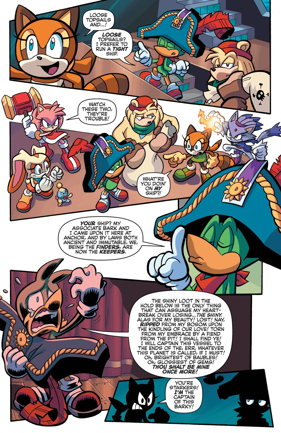 Read online Sonic Universe comic -  Issue #57 - 15