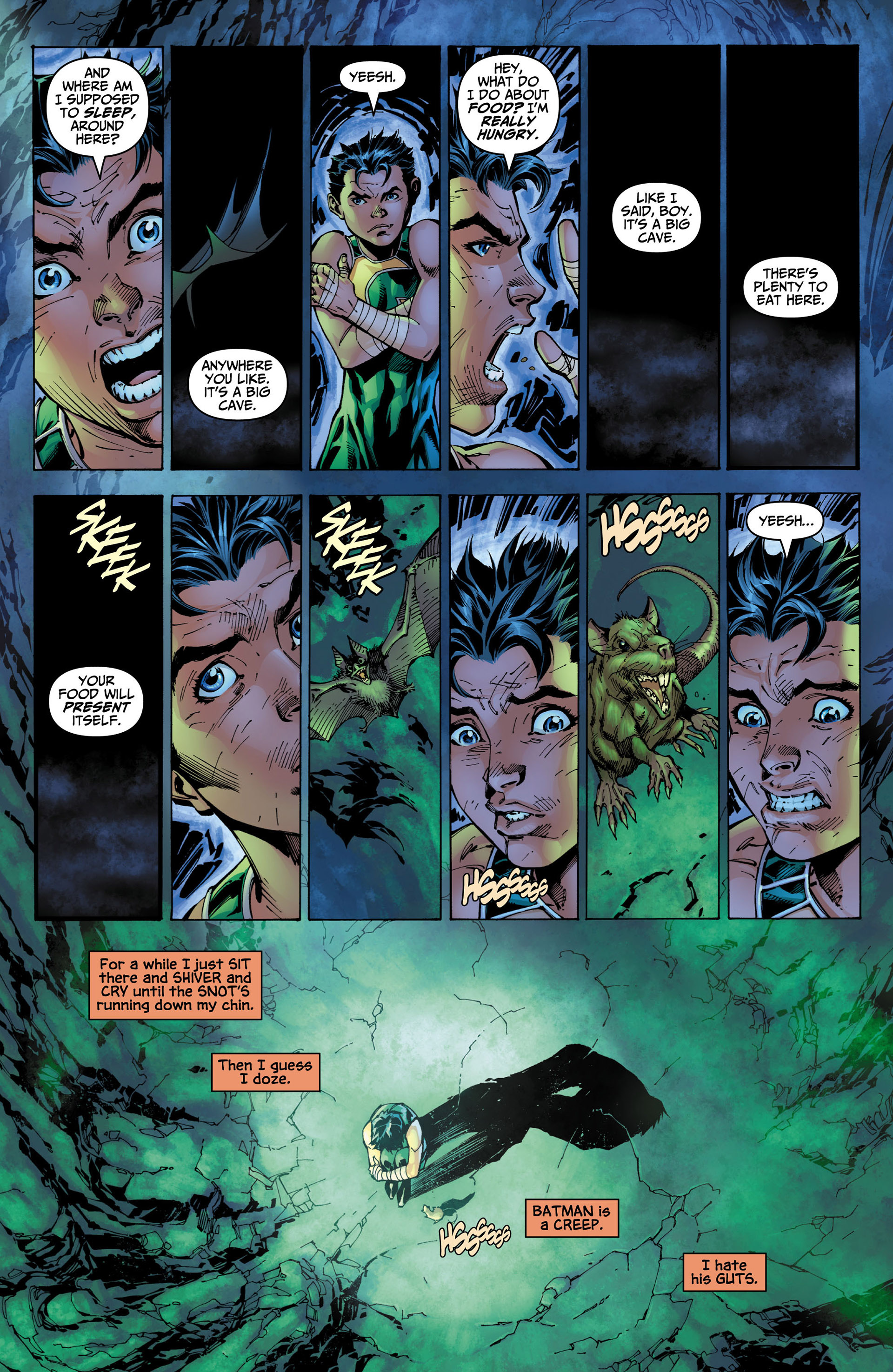 Read online All Star Batman & Robin, The Boy Wonder comic -  Issue #4 - 19