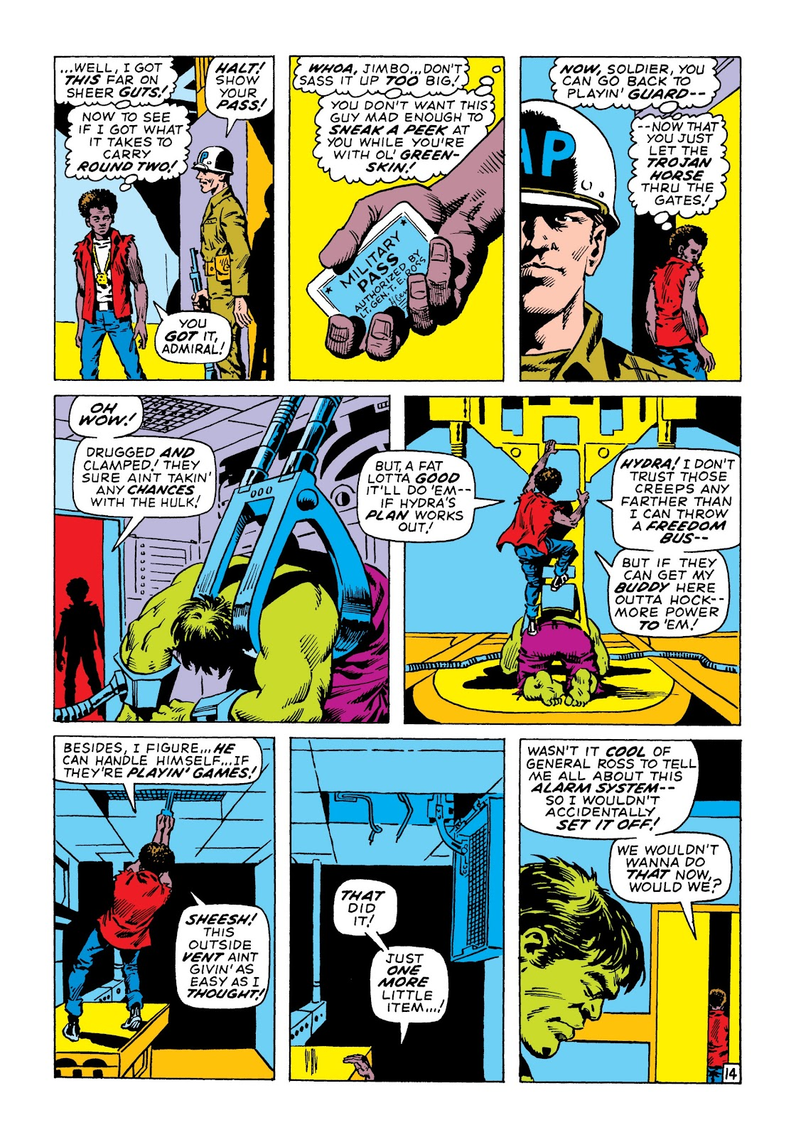 Read online Marvel Masterworks: The Incredible Hulk comic -  Issue # TPB 6 (Part 3) - 27
