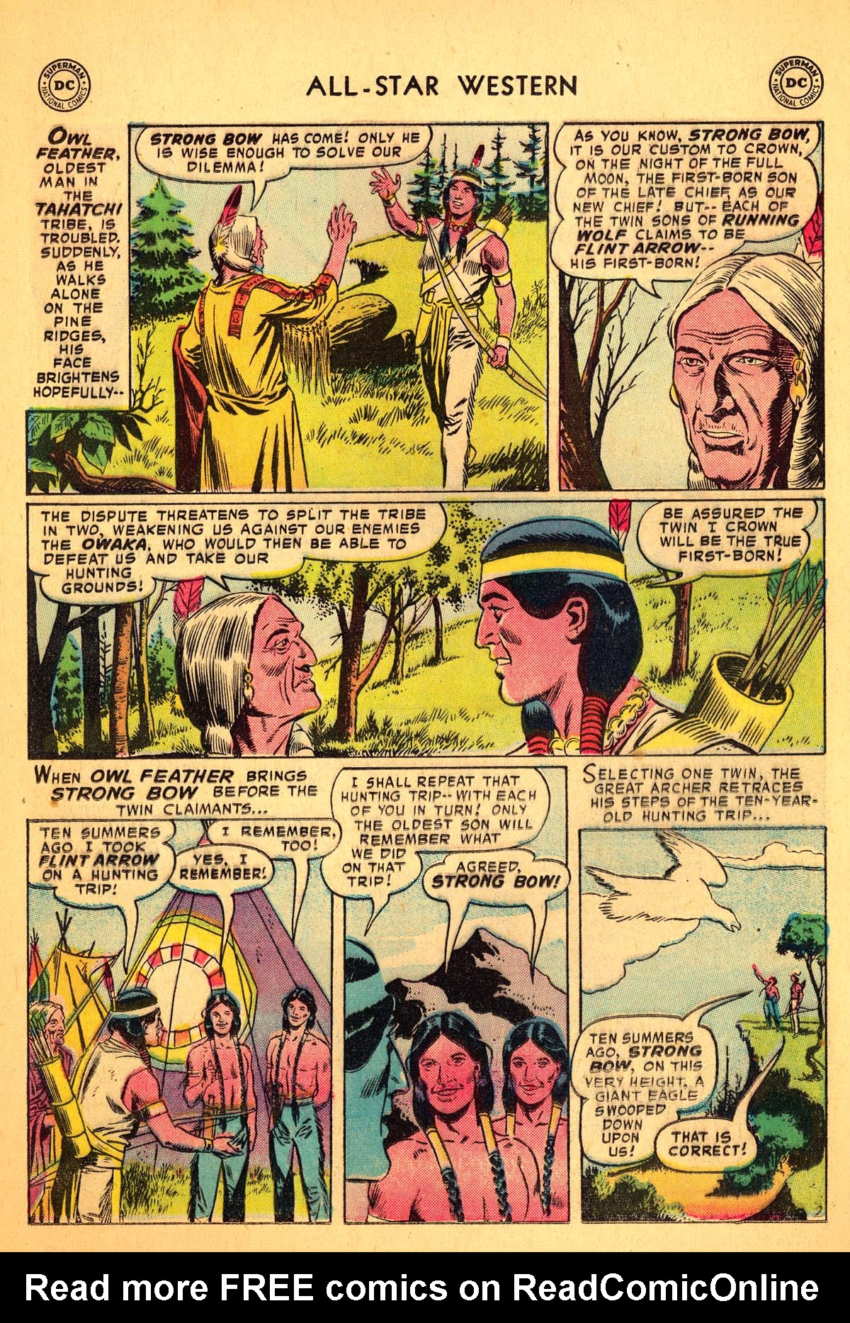 Read online All-Star Western (1951) comic -  Issue #99 - 12