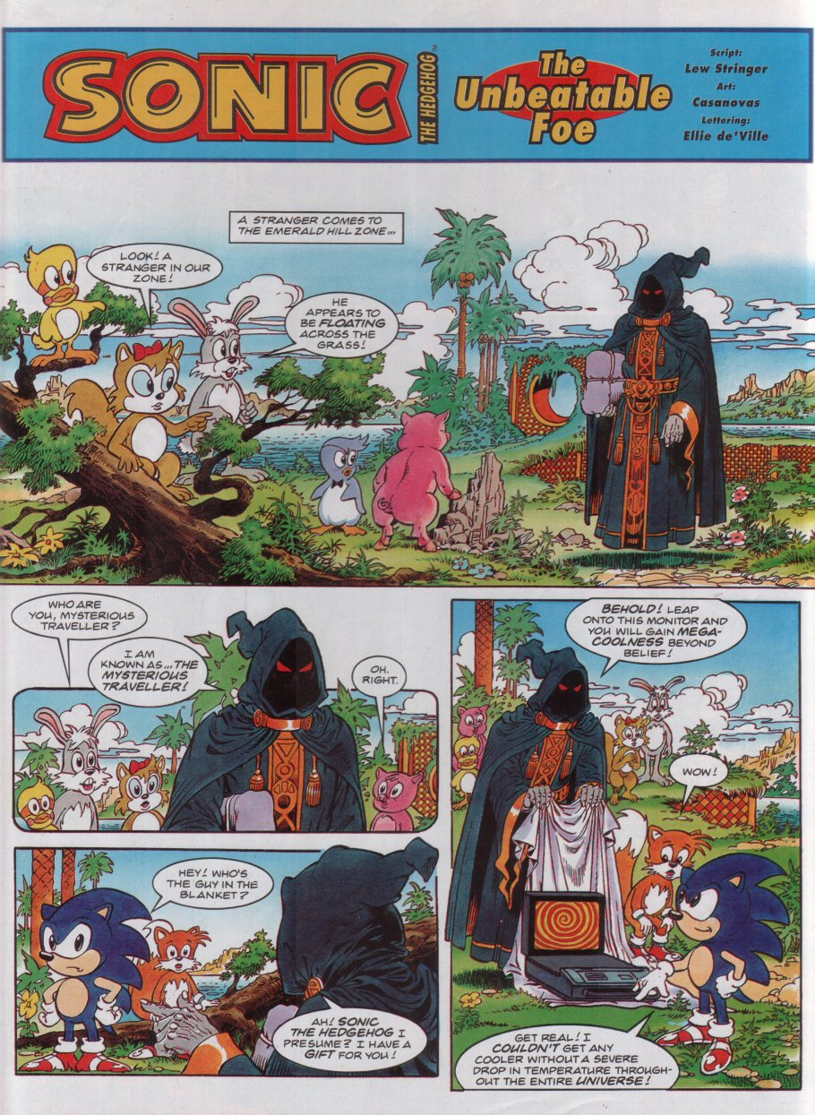 Read online Sonic the Comic comic -  Issue #32 - 3
