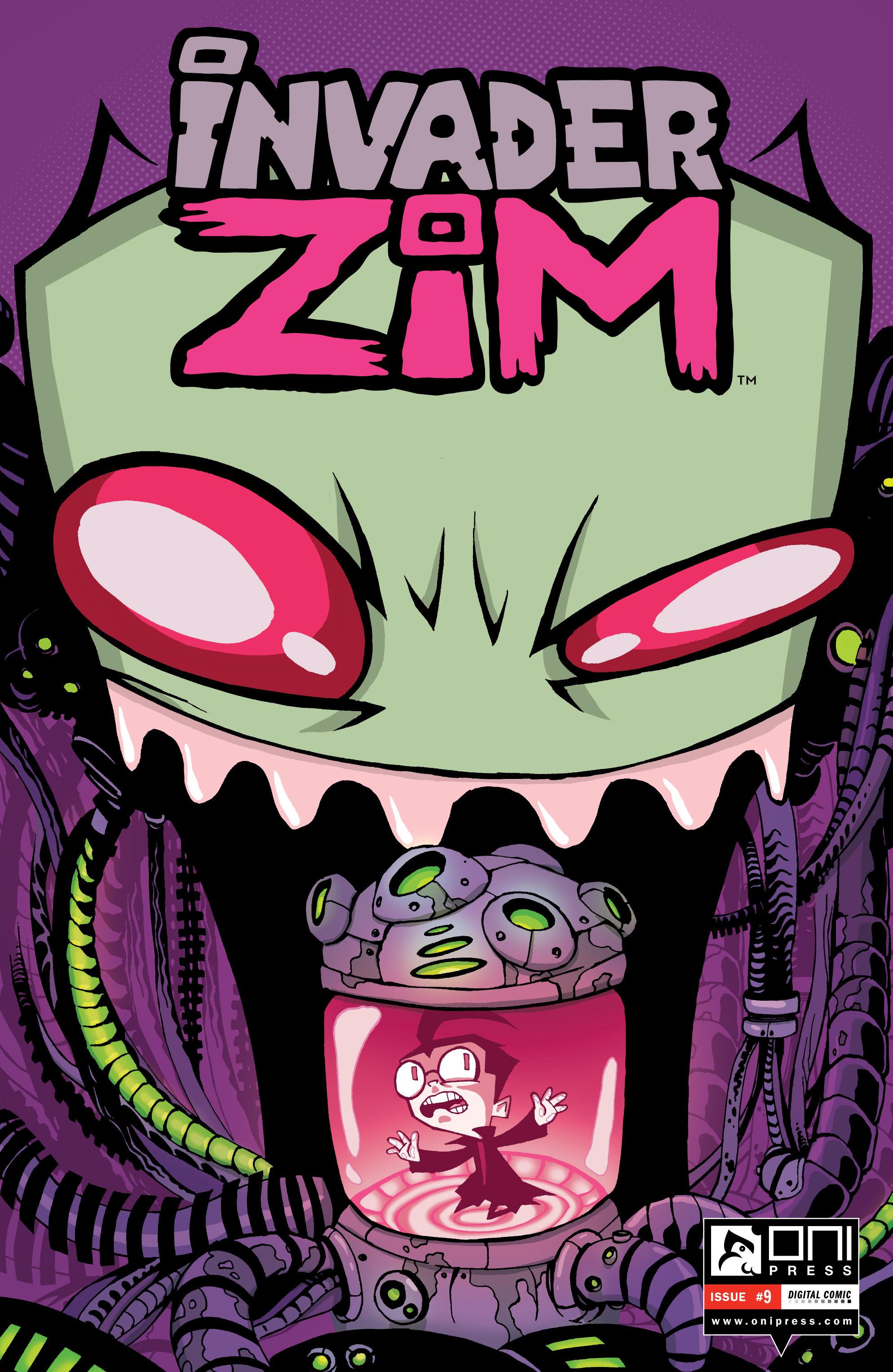 Invader Zim 9 Page 1