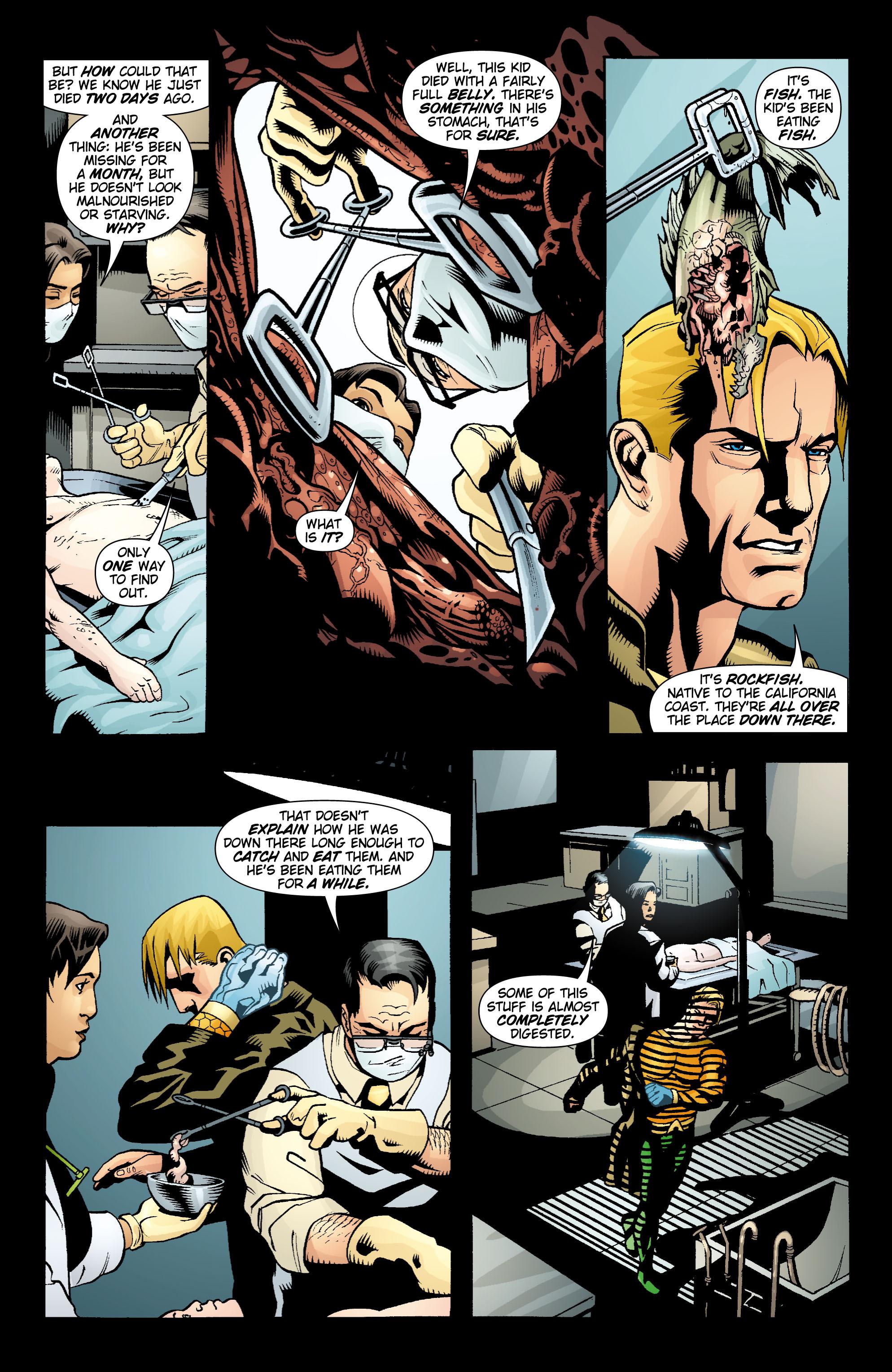 Read online Aquaman (2003) comic -  Issue #15 - 20