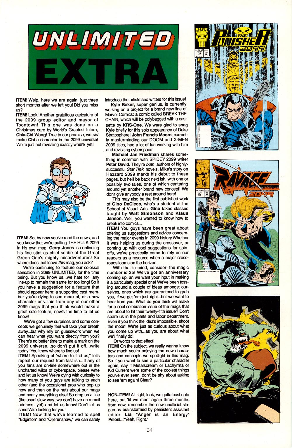 Read online 2099 Unlimited comic -  Issue #5 - 54