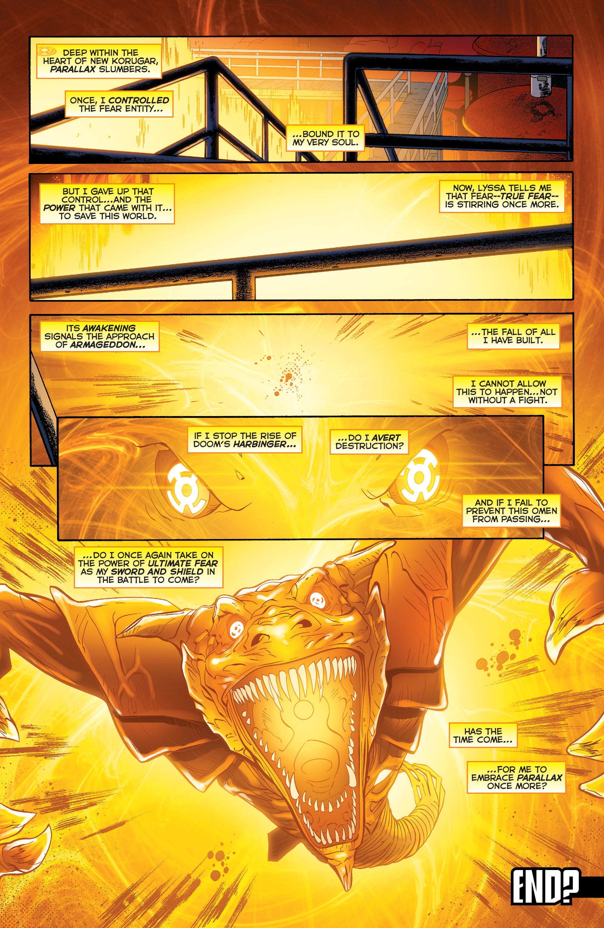 Read online Sinestro comic -  Issue #23 - 20