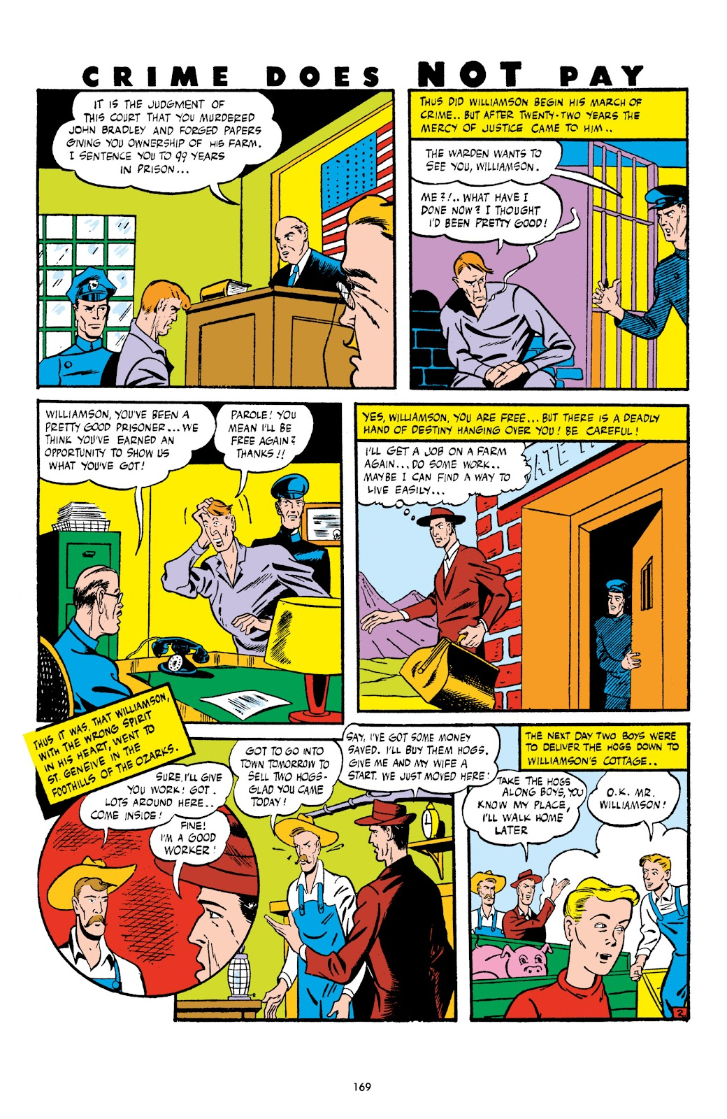 Read online Crime Does Not Pay Archives comic -  Issue # TPB 6 (Part 2) - 70