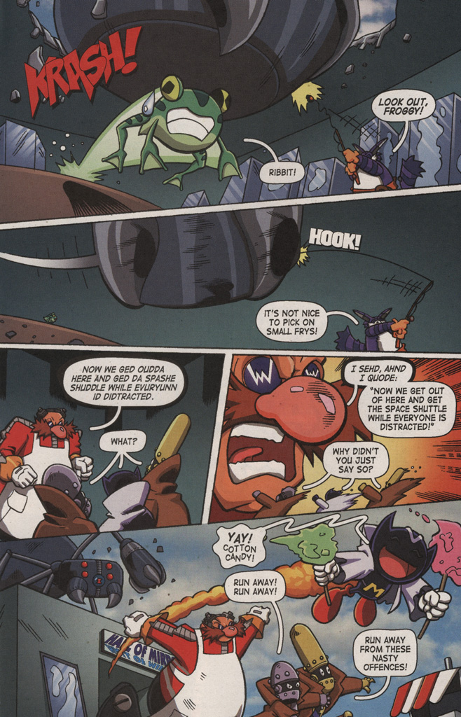 Read online Sonic X comic -  Issue #9 - 8