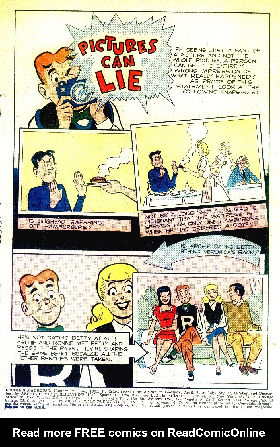 Archie's Madhouse issue 12 - Page 3