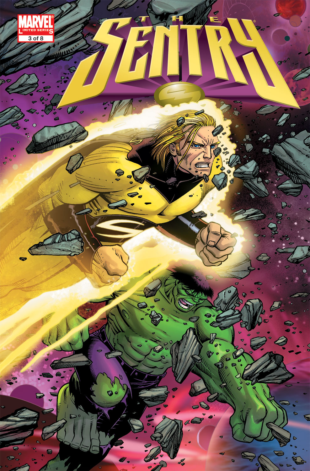 Read online Sentry (2006) comic -  Issue #3 - 1