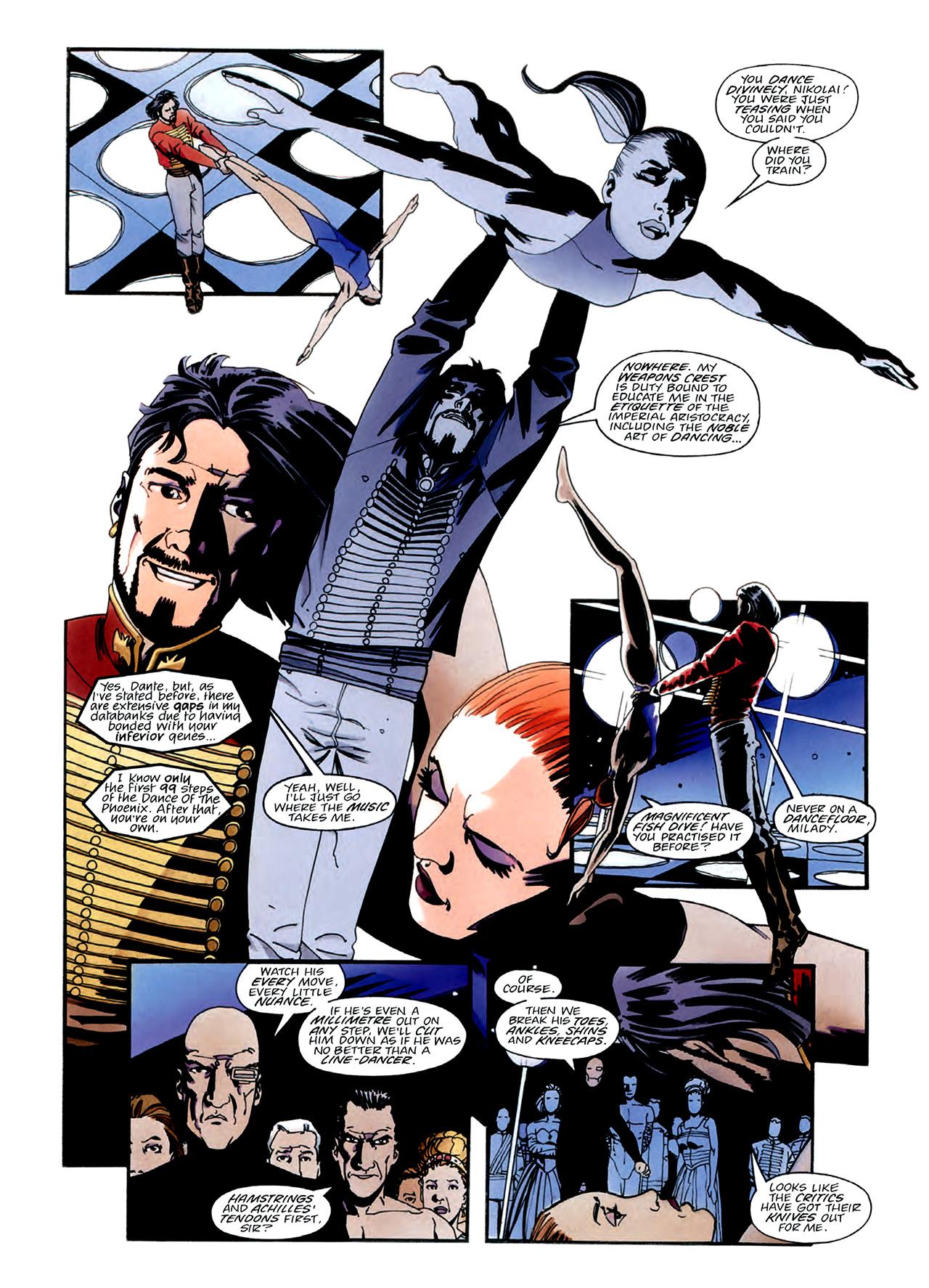Read online Nikolai Dante comic -  Issue # TPB 3 - 23