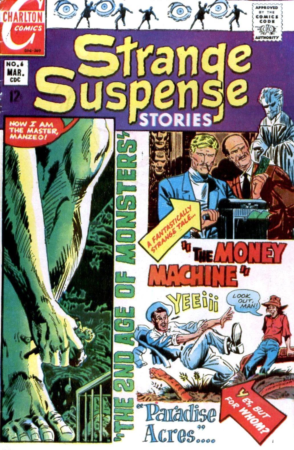 Strange Suspense Stories 6 Page 1
