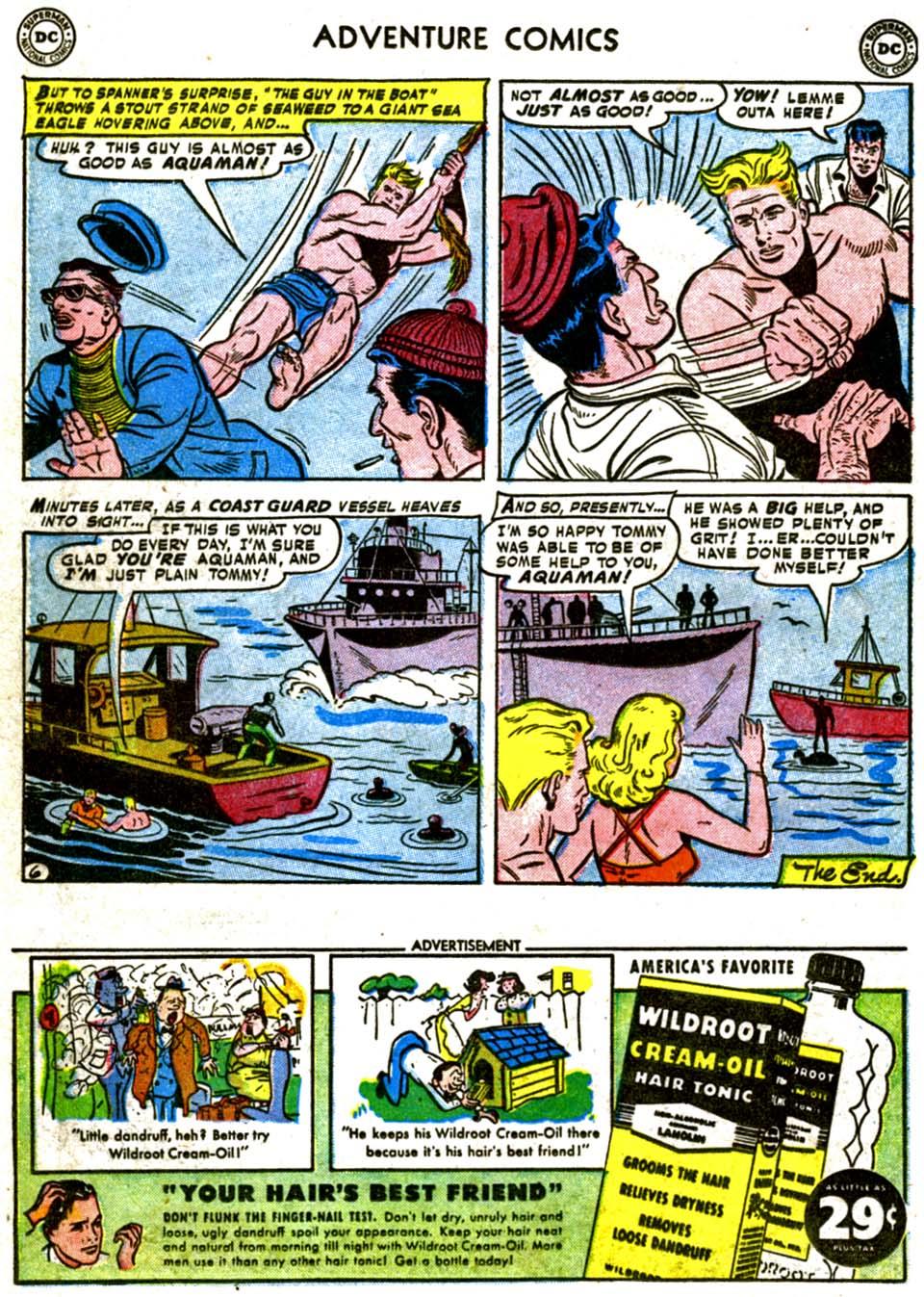 Read online Adventure Comics (1938) comic -  Issue #177 - 22