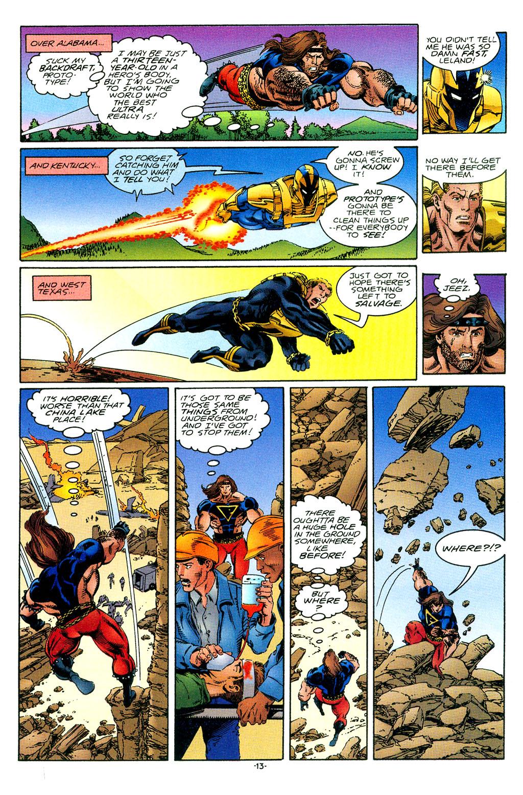 Read online UltraForce (1994) comic -  Issue #1 - 14