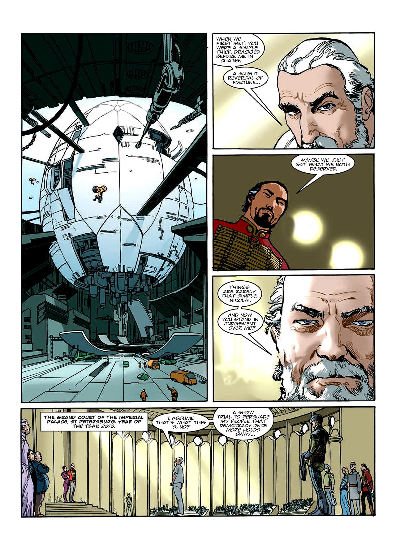 Read online Nikolai Dante comic -  Issue # TPB 10 - 89