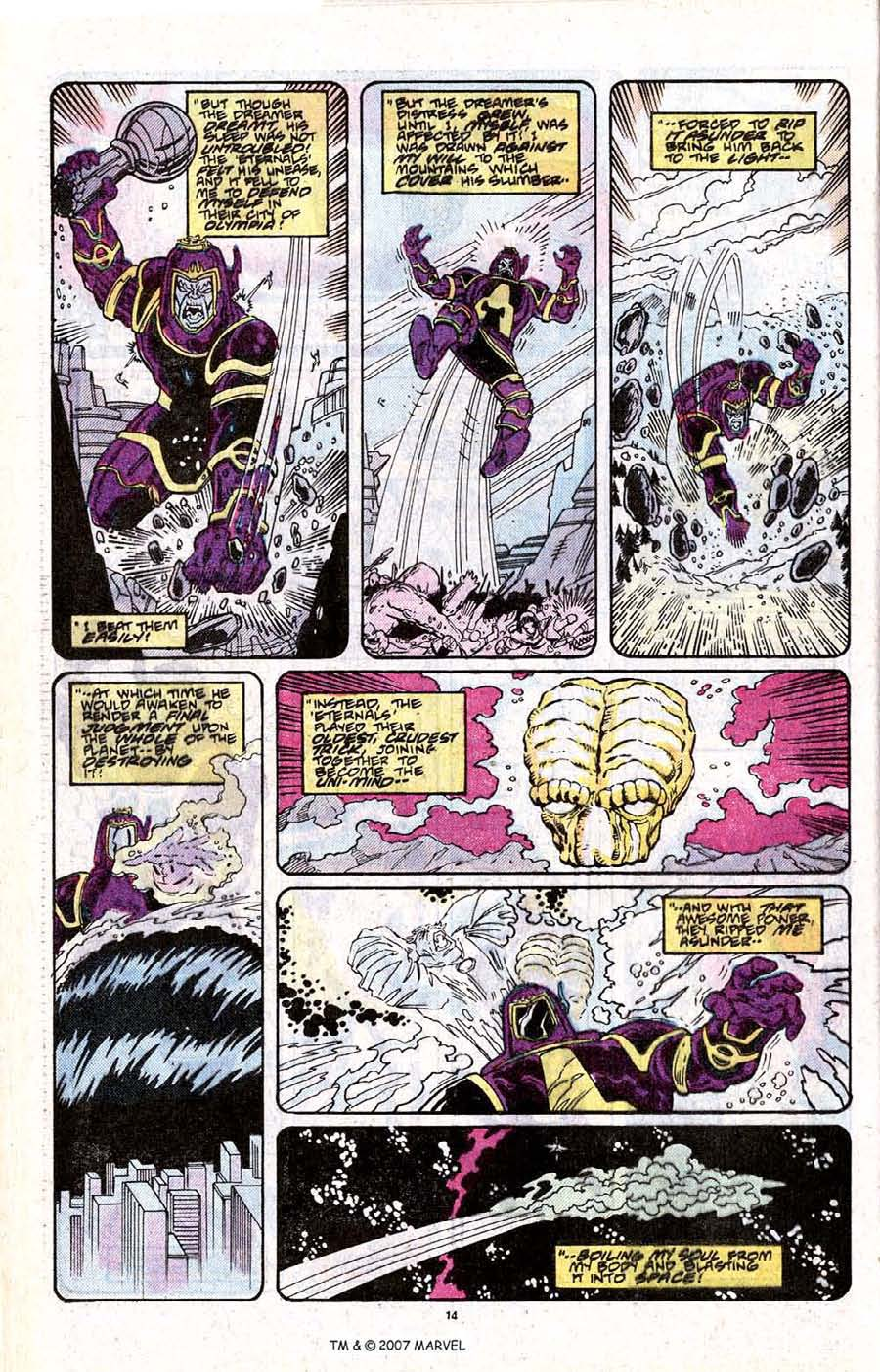 Read online Silver Surfer (1987) comic -  Issue # _Annual 2 - 16