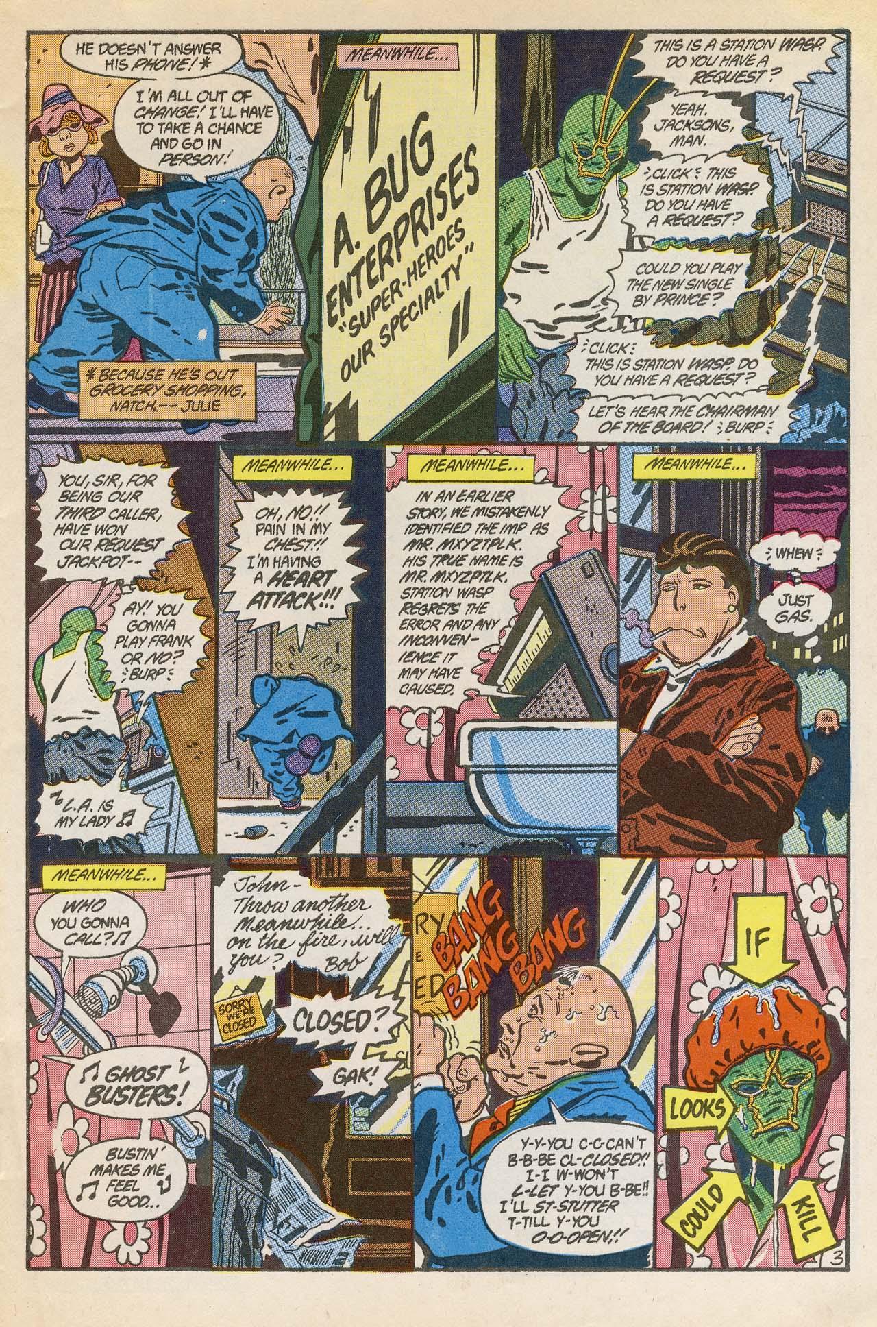 Read online Ambush Bug comic -  Issue #2 - 5