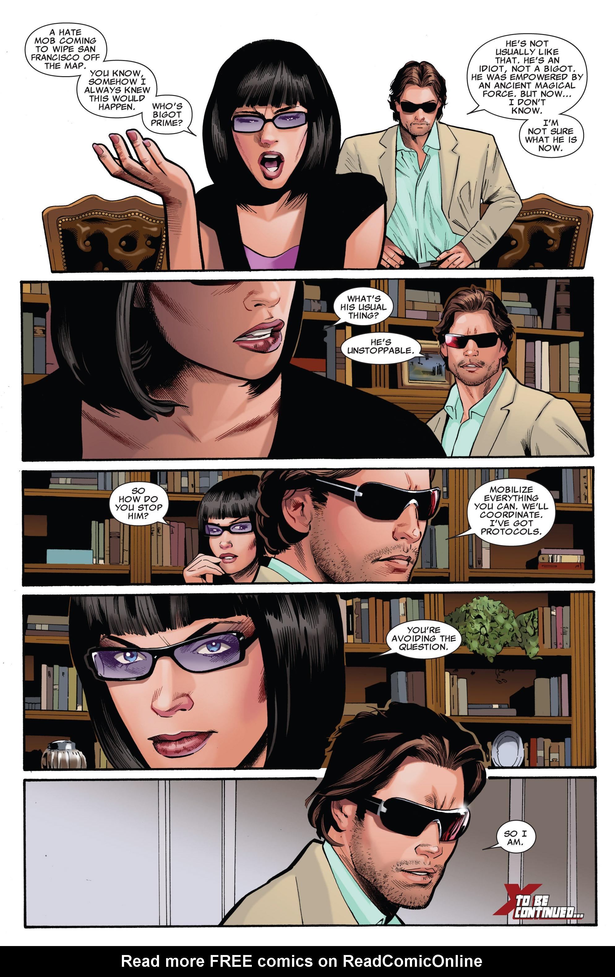 Read online Uncanny X-Men (1963) comic -  Issue #540 - 22