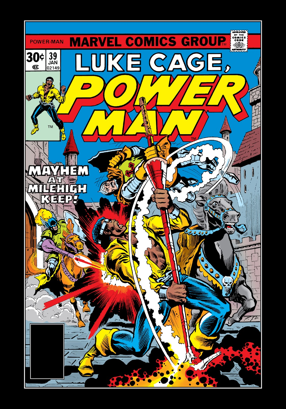 Read online Marvel Masterworks: Luke Cage, Power Man comic -  Issue # TPB 3 (Part 2) - 55
