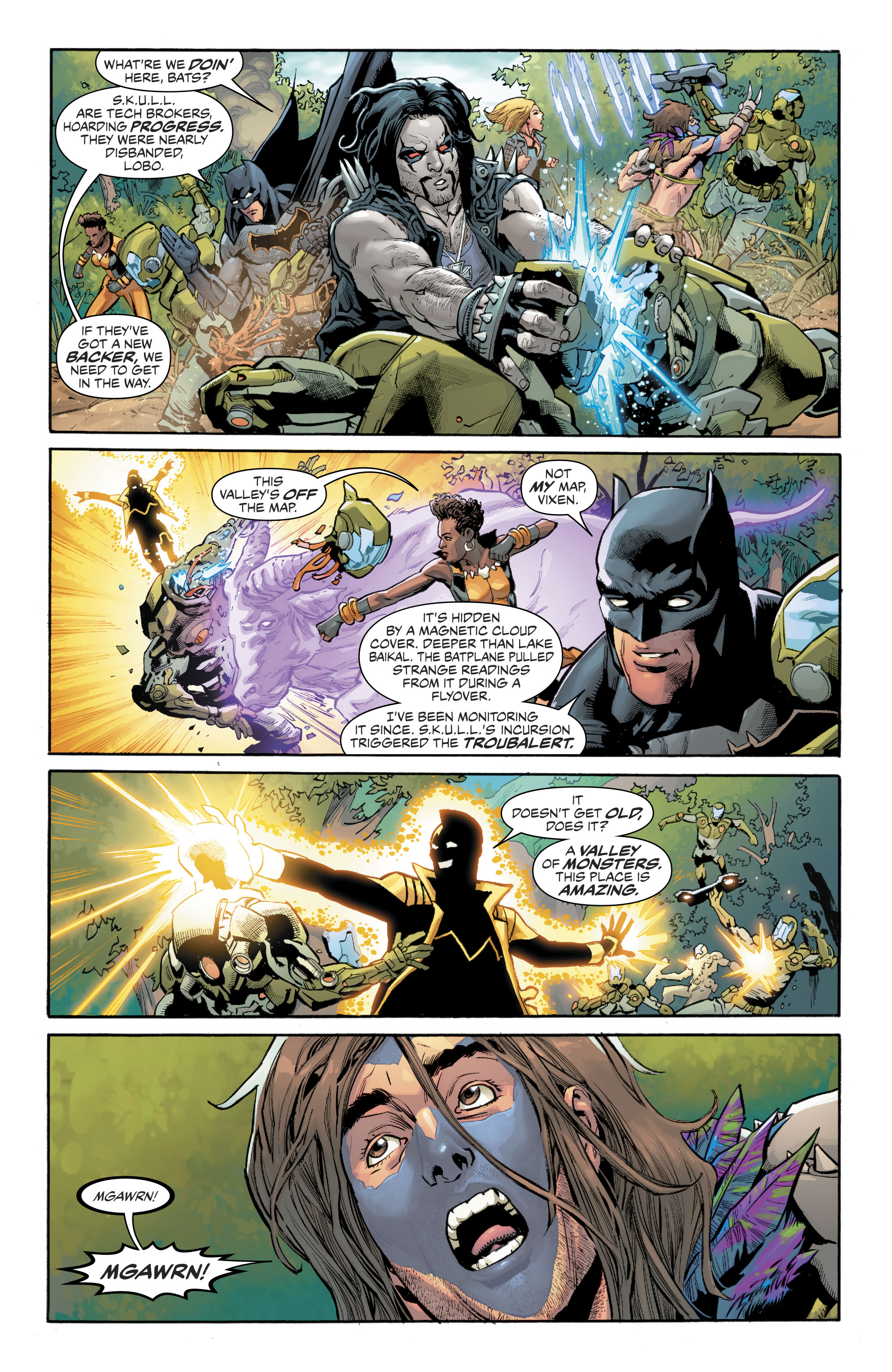 Read online Justice League of America (2017) comic -  Issue #8 - 8
