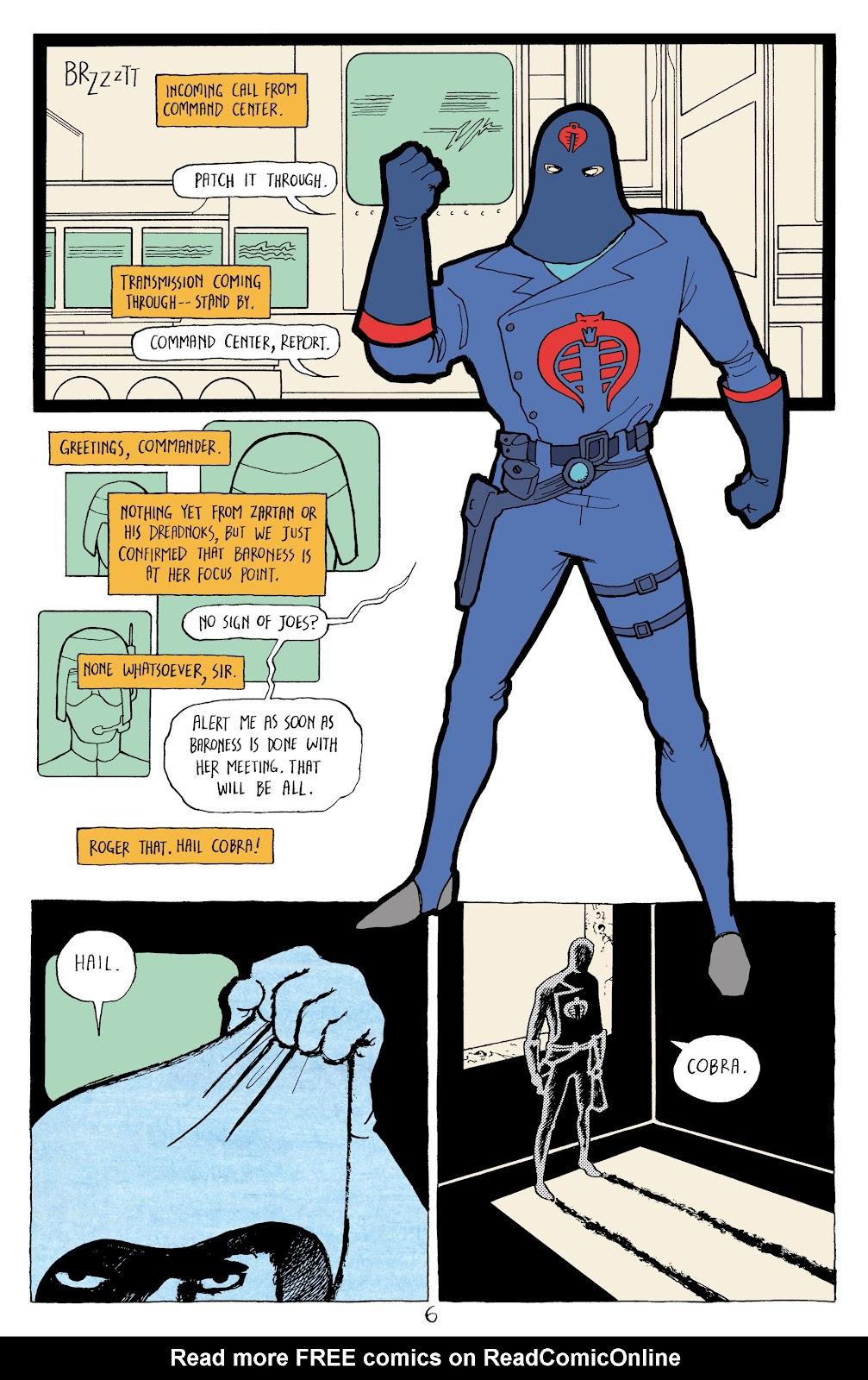 Read online G.I. Joe: Sierra Muerte comic -  Issue #2 - 8