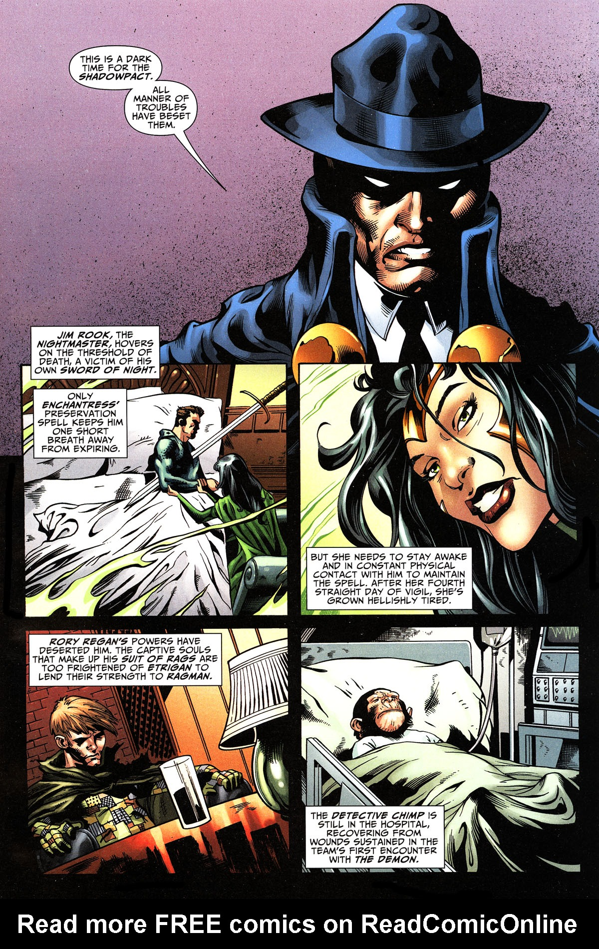 Read online Shadowpact comic -  Issue #11 - 2