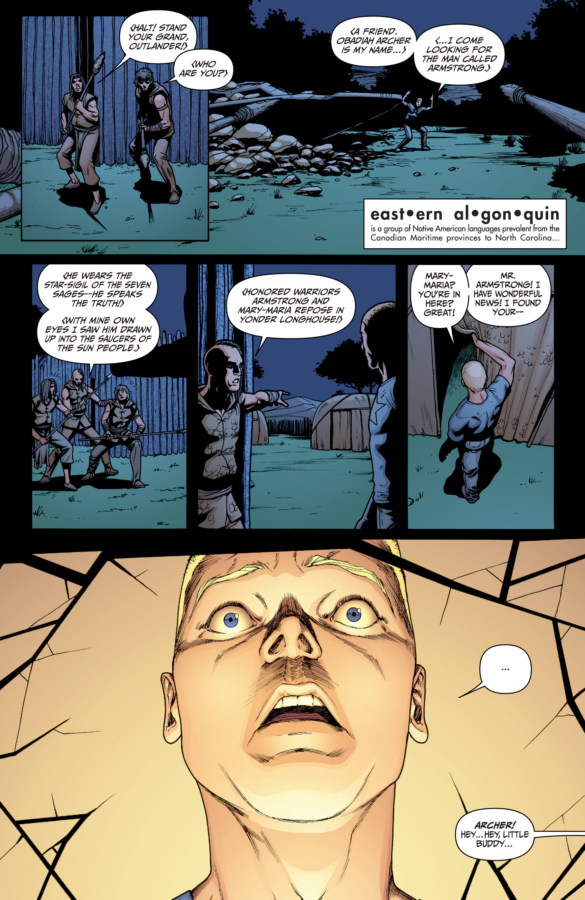 Read online Archer and Armstrong comic -  Issue #Archer and Armstrong _TPB 3 - 101