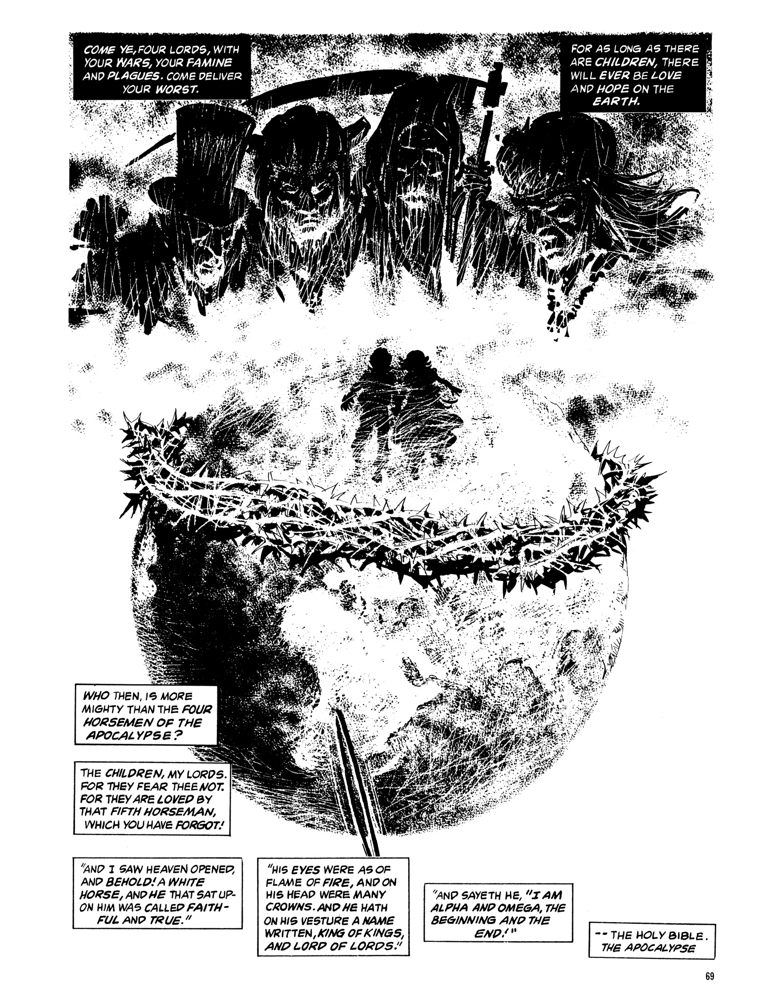 Read online Eerie Archives comic -  Issue # TPB 14 - 70