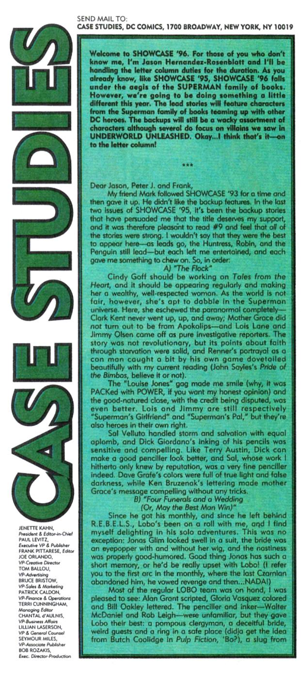 Read online Showcase '96 comic -  Issue #1 - 39
