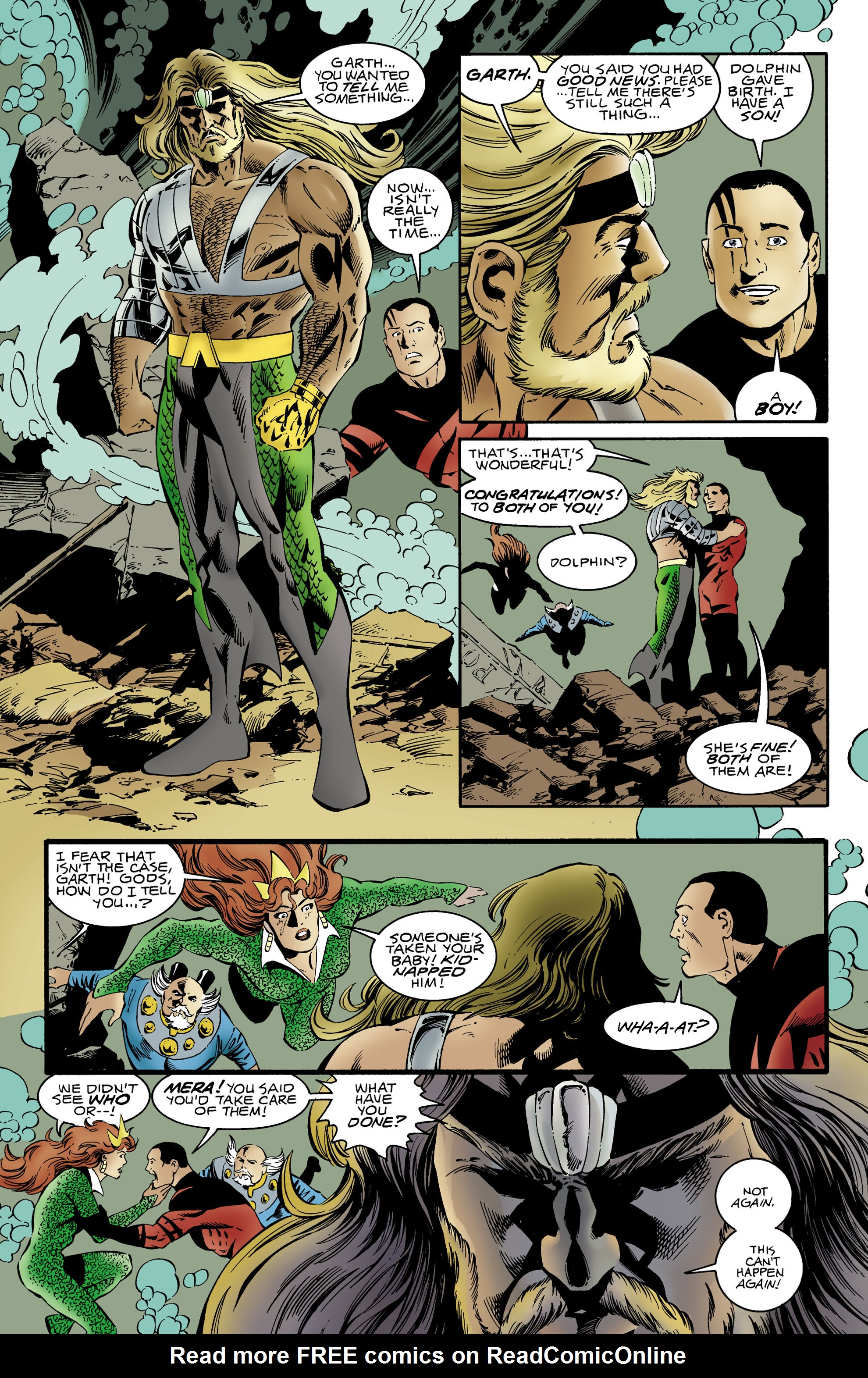 Read online Aquaman (1994) comic -  Issue #64 - 20
