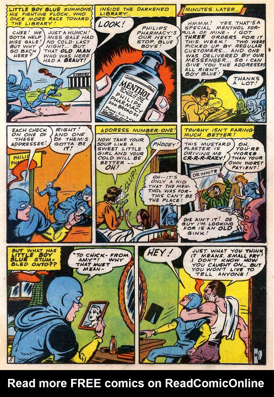 Read online Sensation (Mystery) Comics comic -  Issue #27 - 29